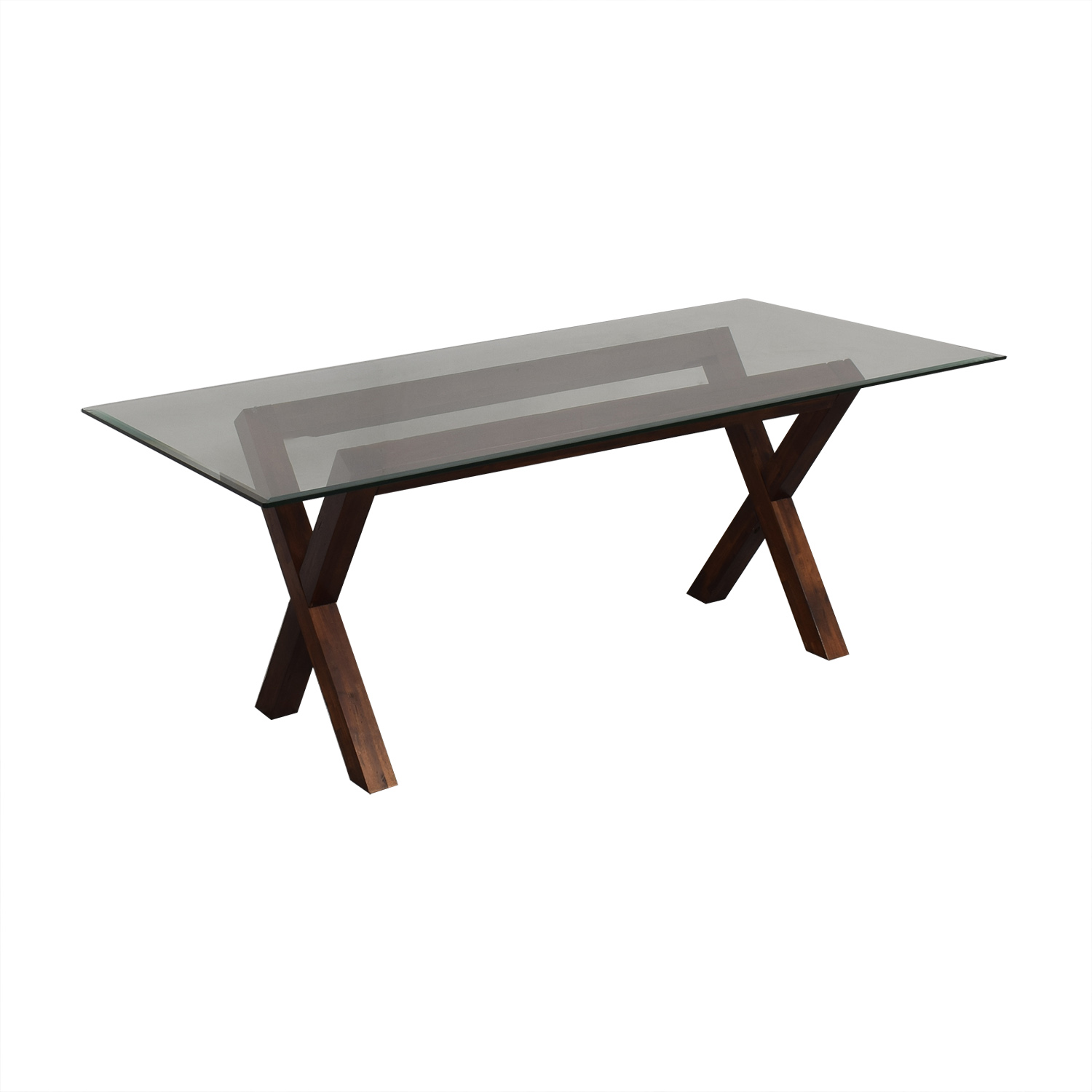 West Elm West Elm Transparent Dining Table ma