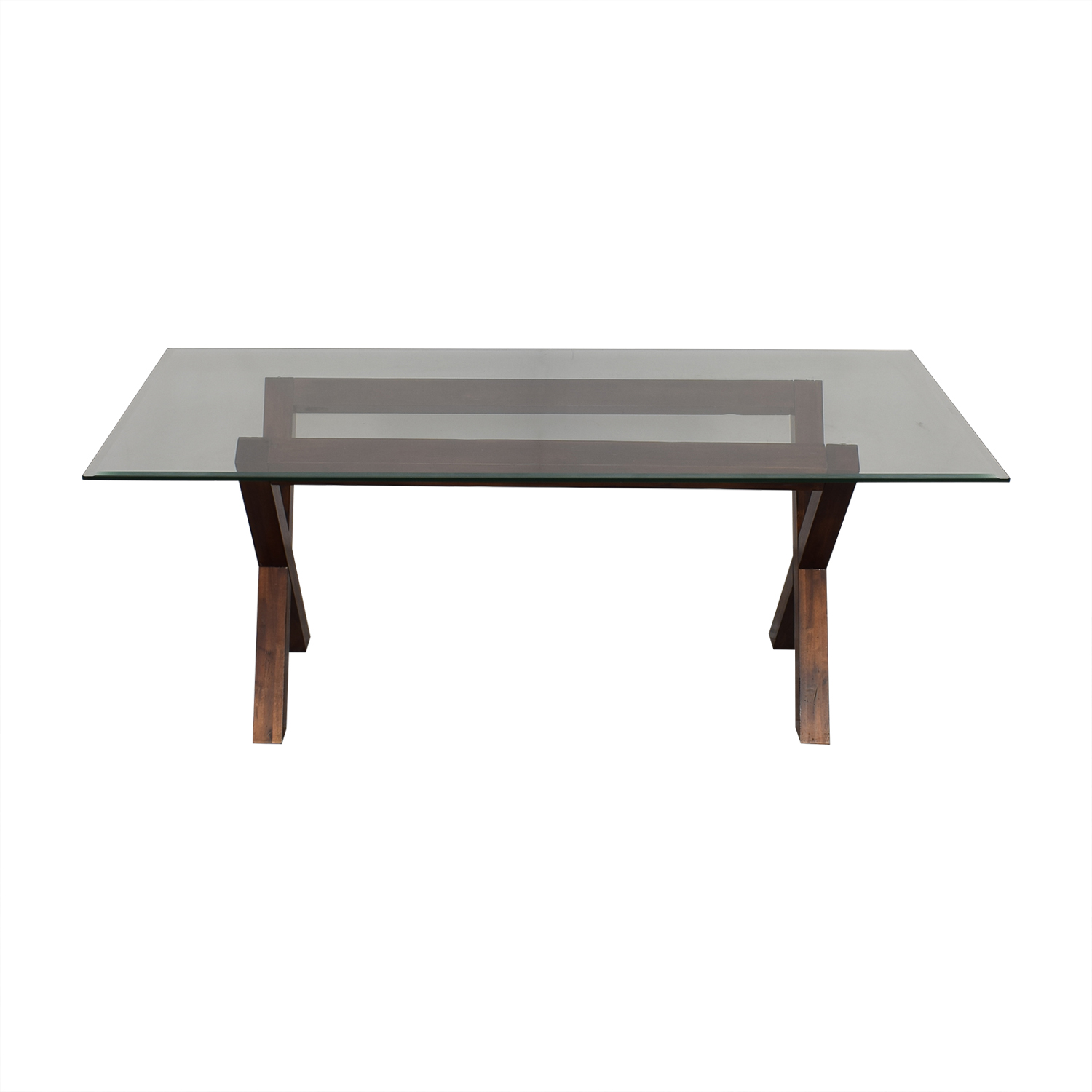 West Elm West Elm Transparent Dining Table nj