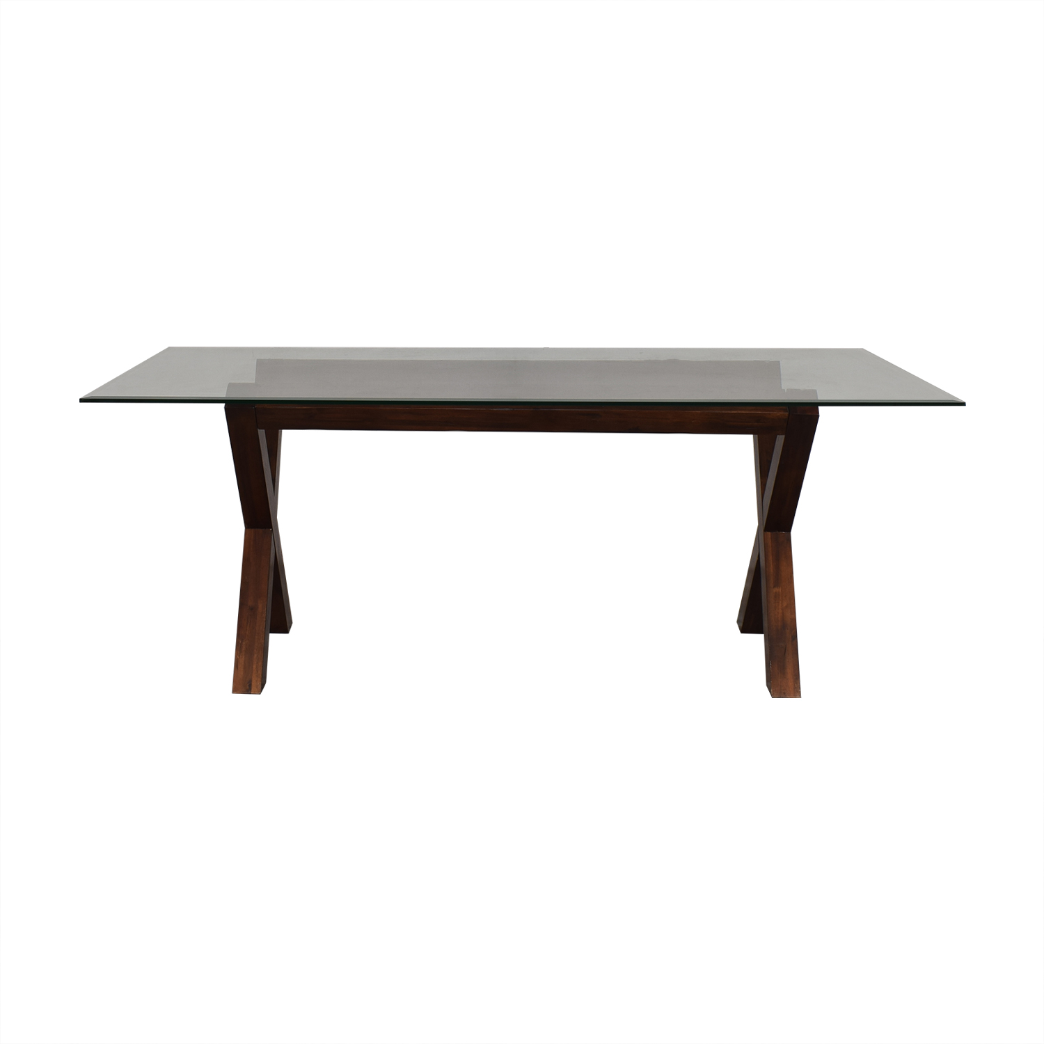 West Elm West Elm Transparent Dining Table price