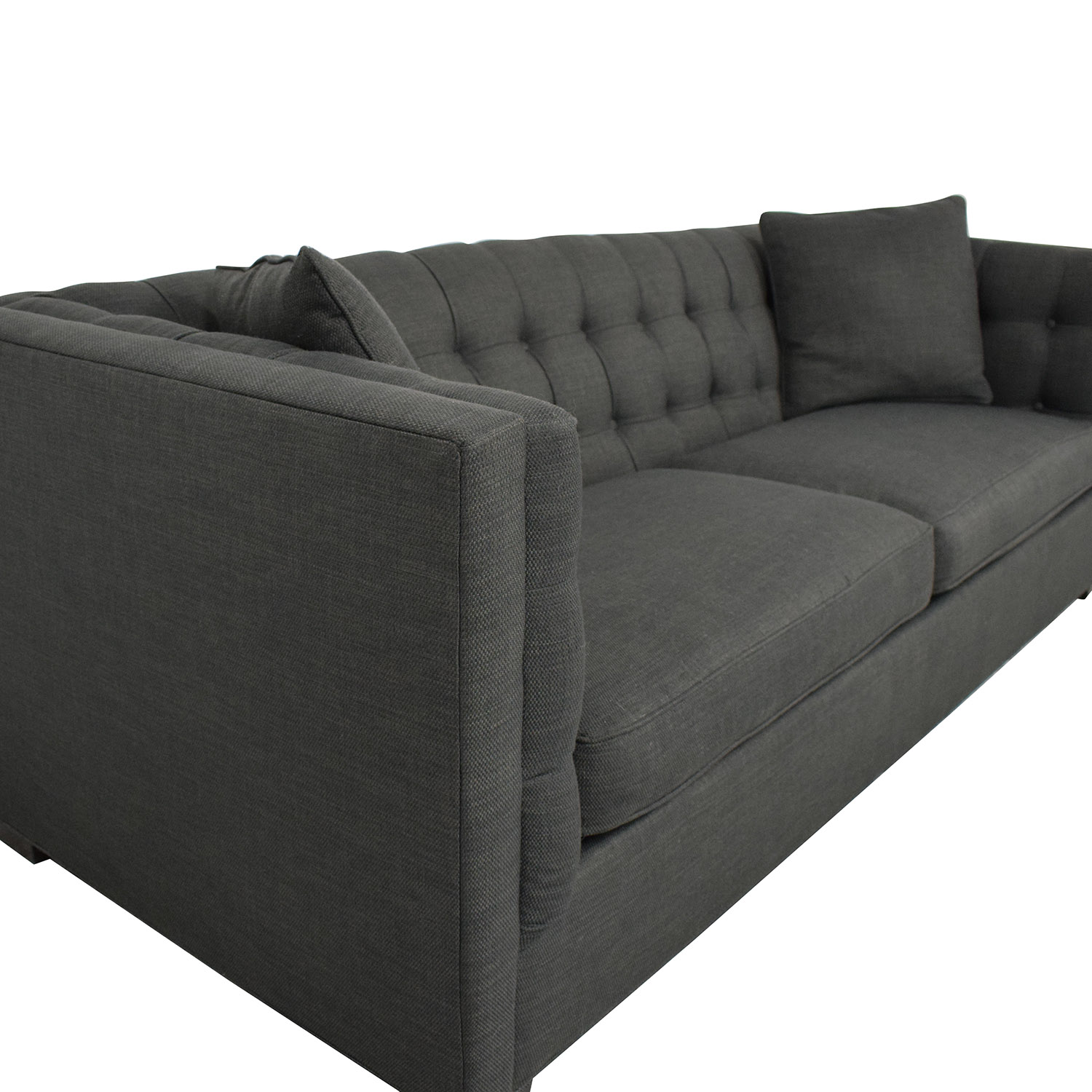 Raymour & Flanigan Raymour & Flanigan Tufted Tuxedo Sofa coupon