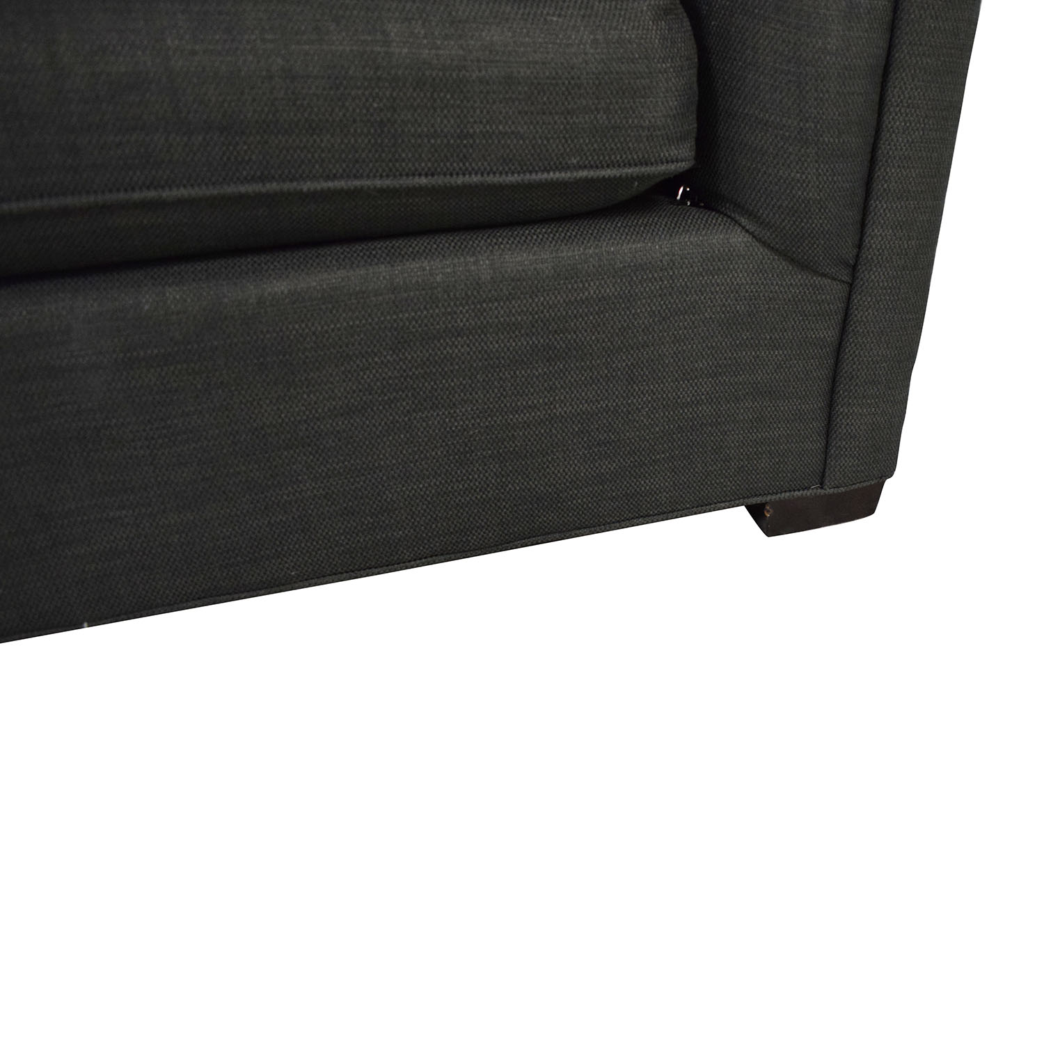 shop Raymour & Flanigan Tufted Tuxedo Sofa Raymour & Flanigan