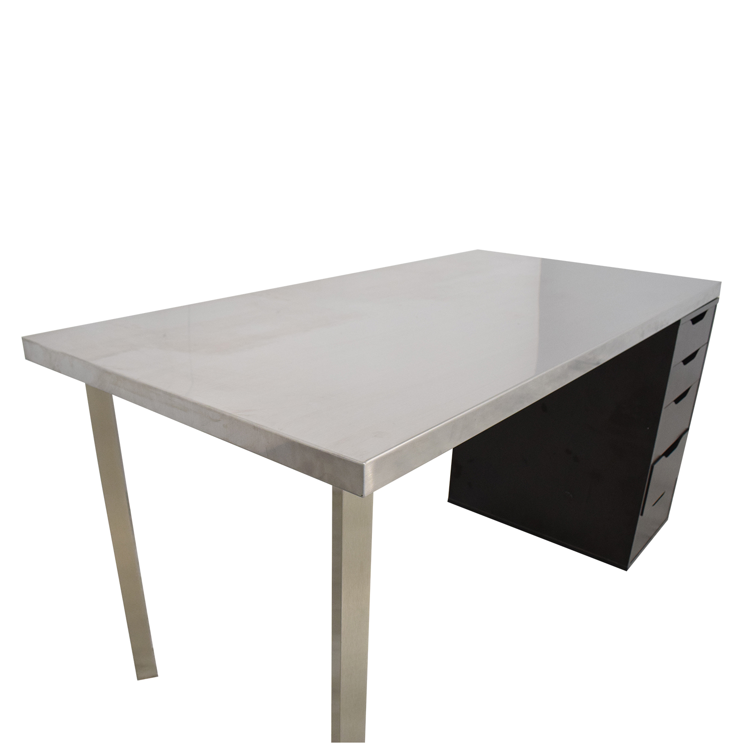 IKEA IKEA Sanfrid Stainless Steel Industrial Desk nyc