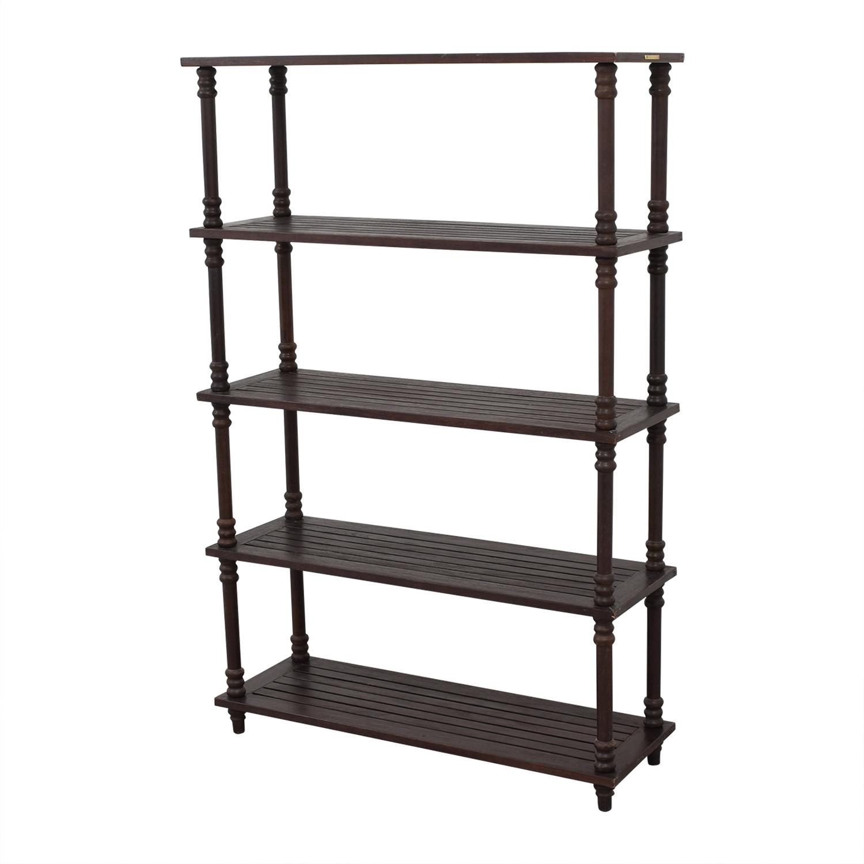 Ballard Designs Floating Bookcase / Bookcases & Shelving
