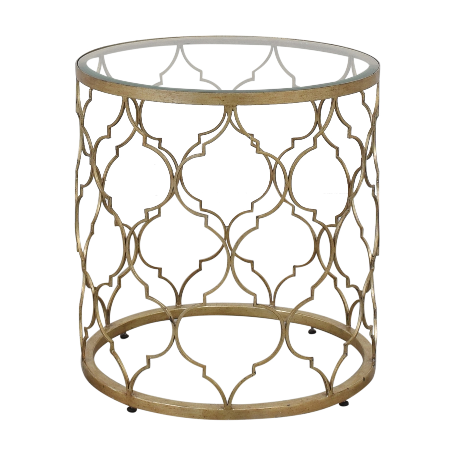 buy Ethan Allen Quatrefoil End Table Ethan Allen End Tables