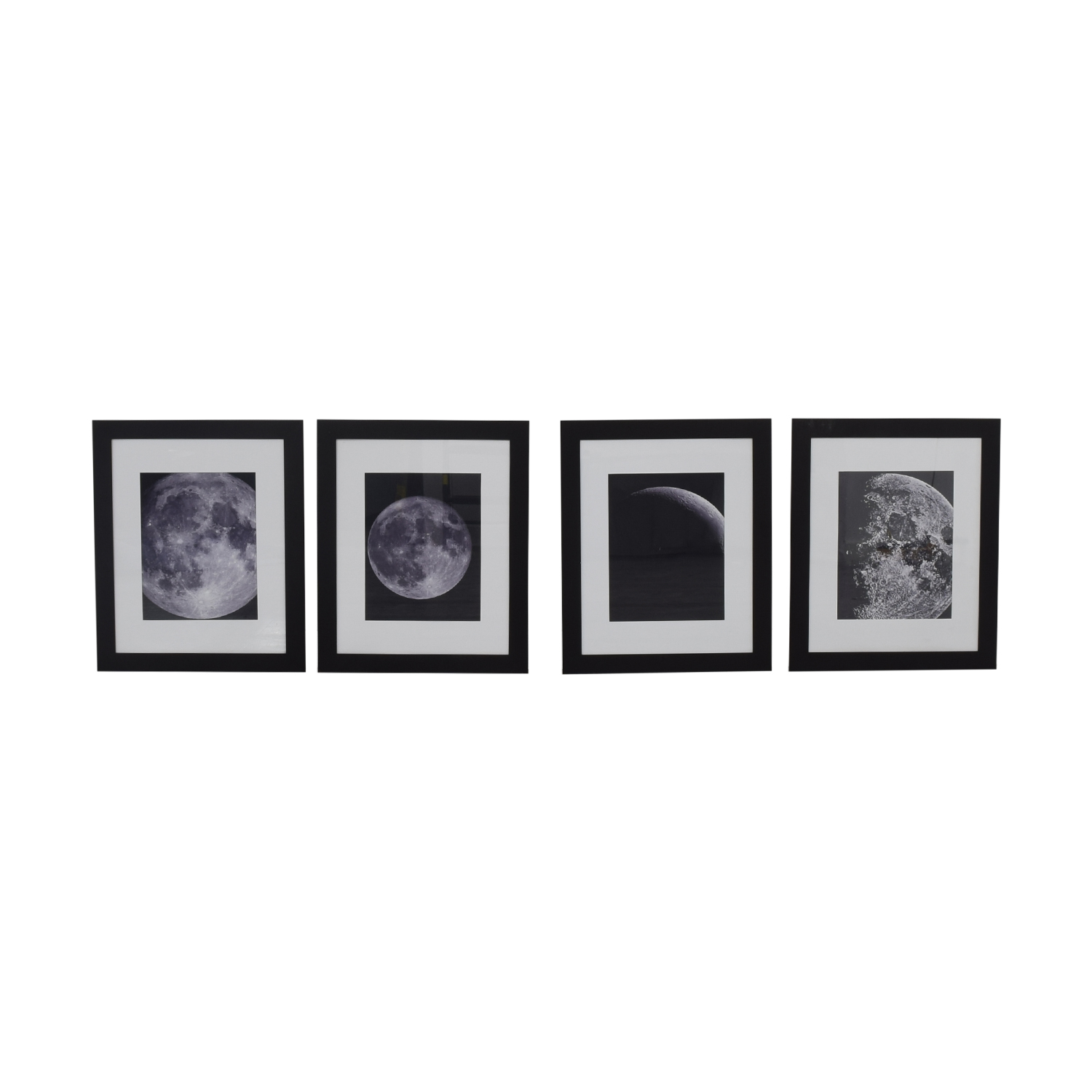 Moon Phases Artwork black and white