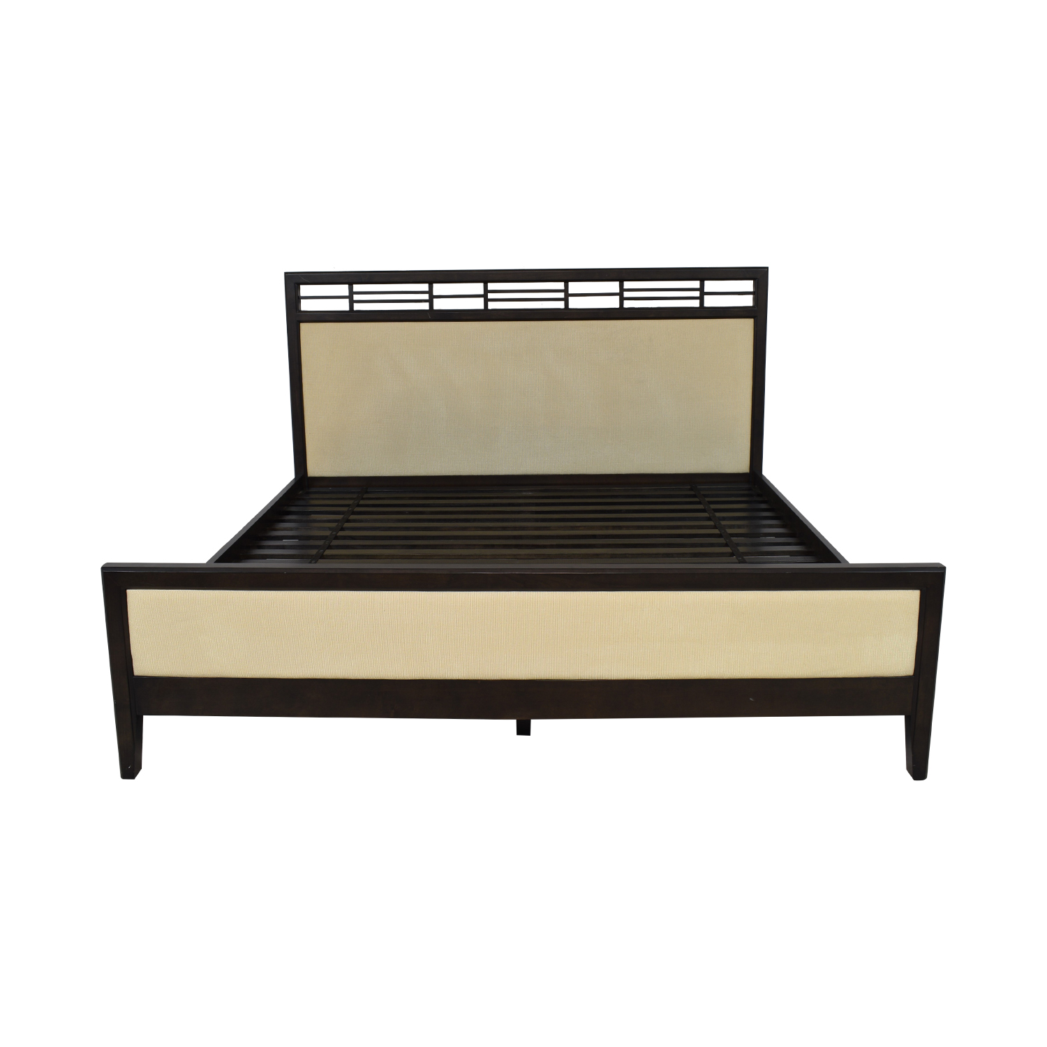 Crate & Barrel Crate & Barrel Master King Bed pa