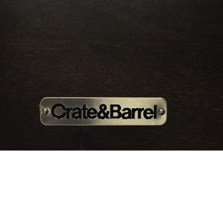 buy Crate & Barrel Master King Bed Crate & Barrel Bed Frames