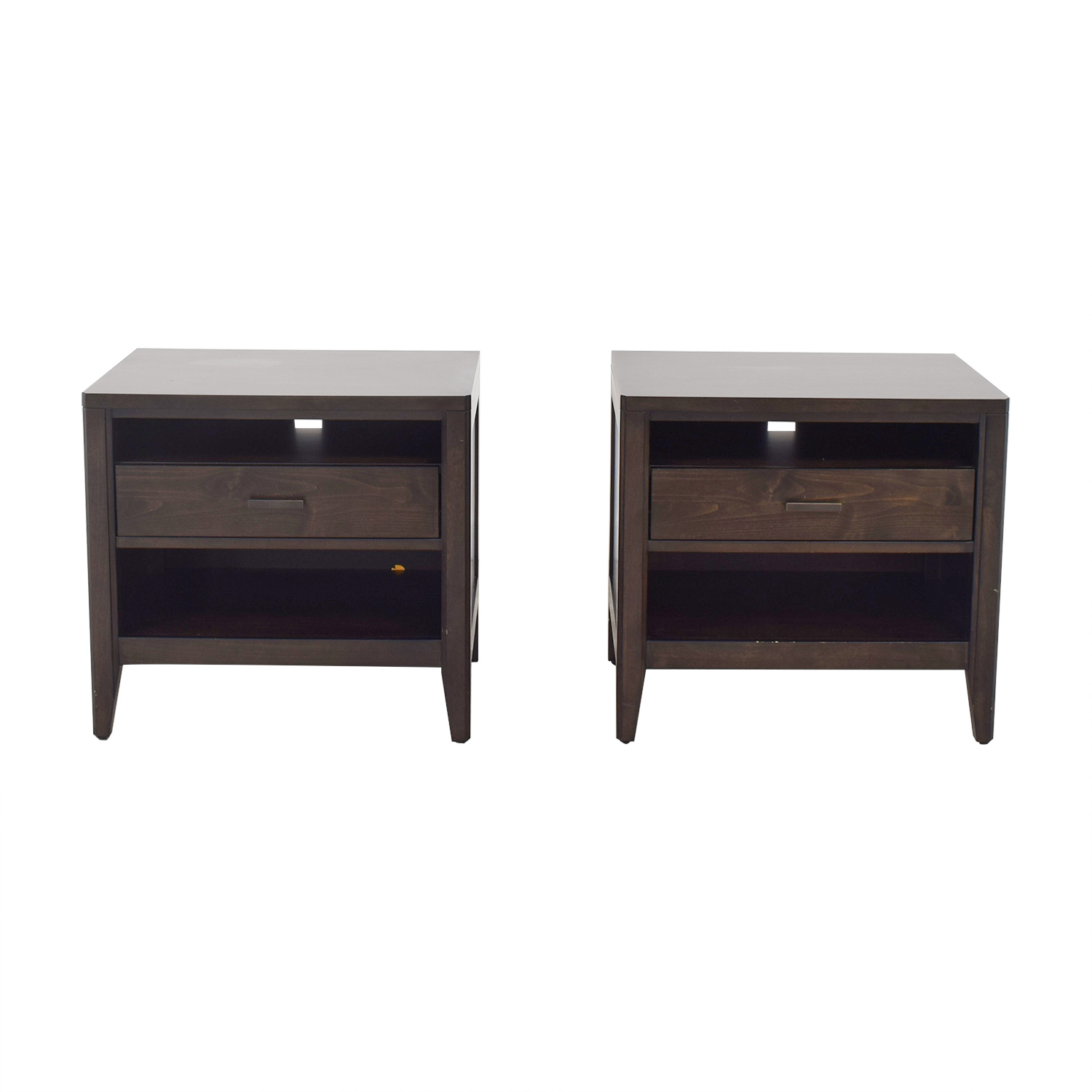 shop Crate & Barrel Night Stands Crate & Barrel End Tables