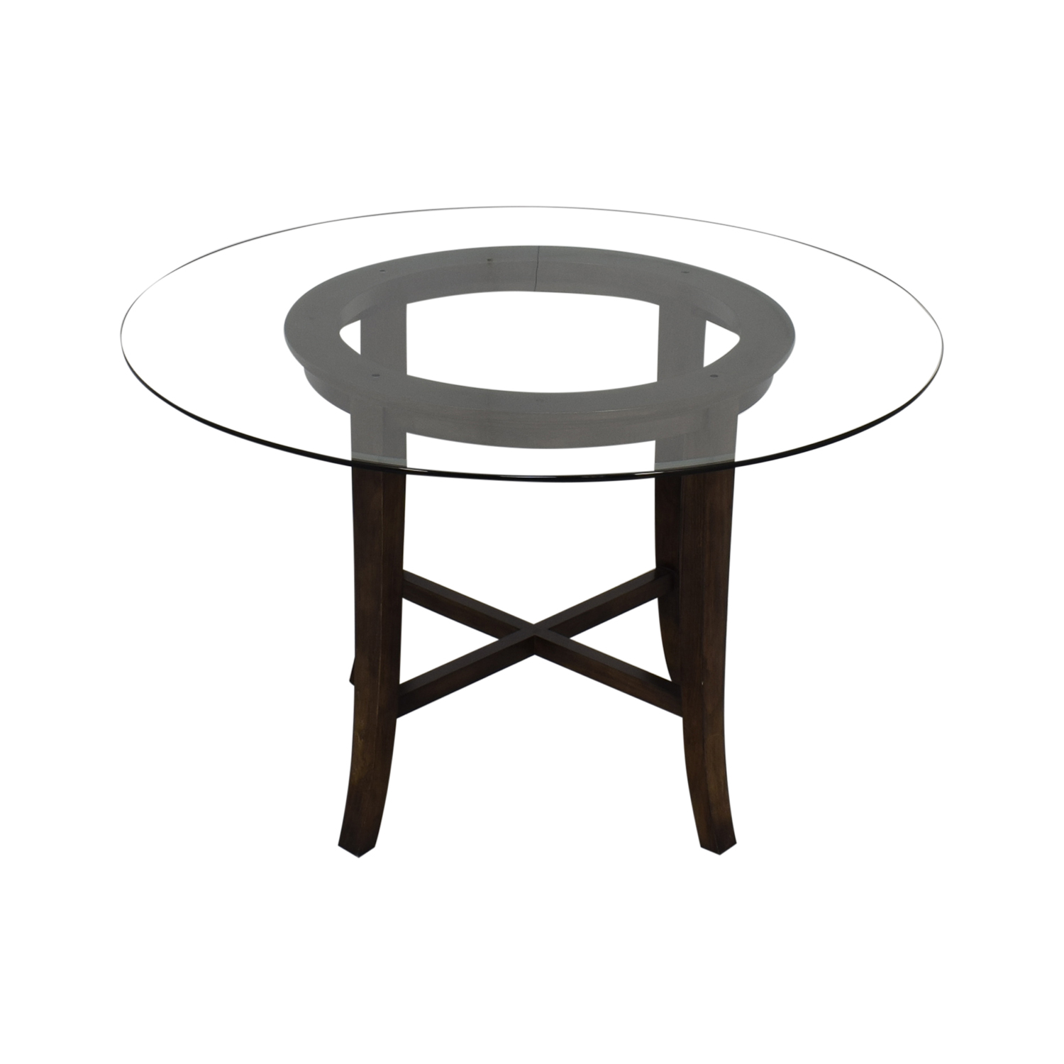 Crate & Barrel Crate & Barrel Halo Round Dining Table