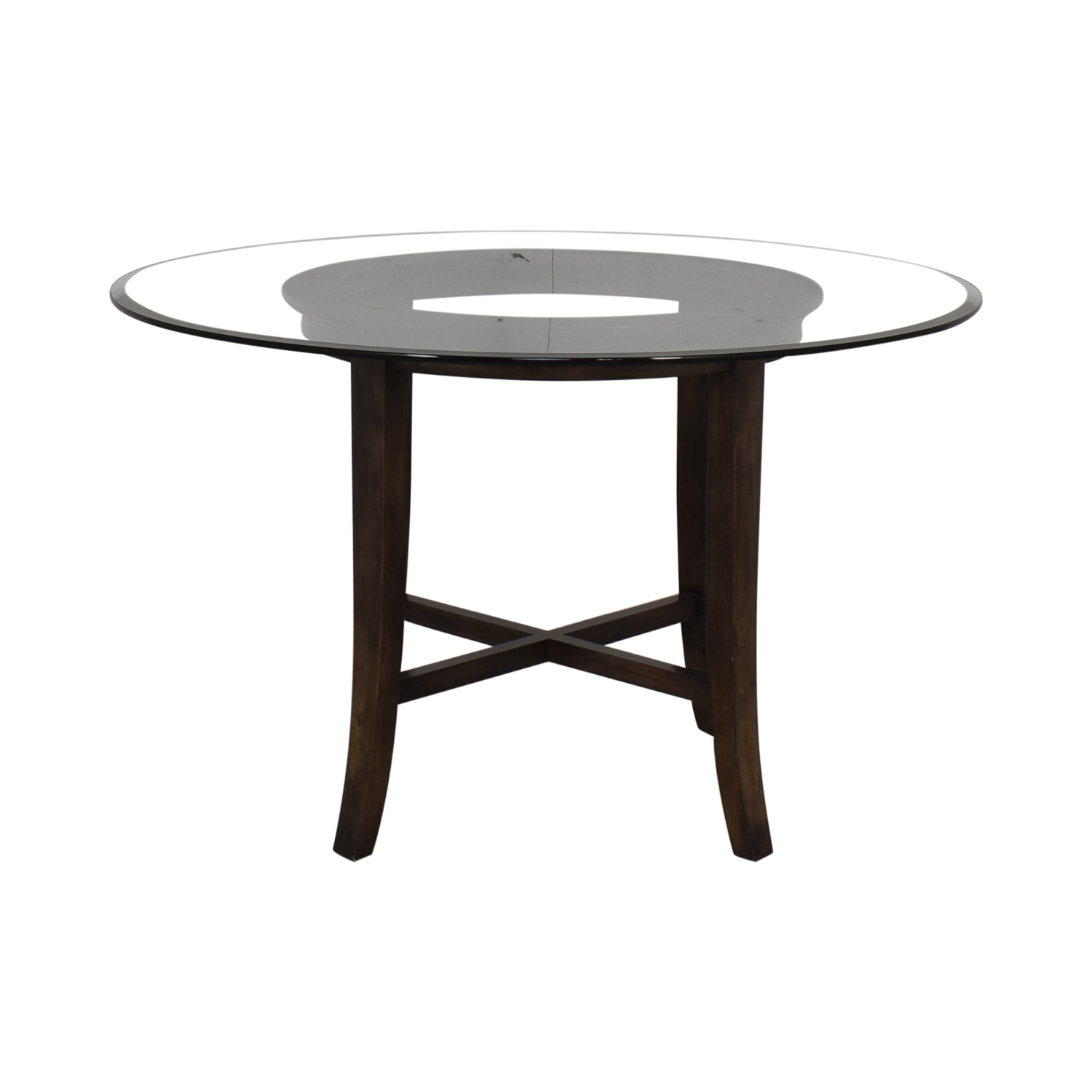 Crate & Barrel Crate & Barrel Halo Round Dining Table Dinner Tables