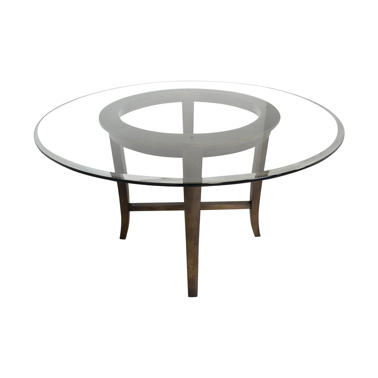 Crate & Barrel Crate & Barrel Halo Round Dining Table second hand