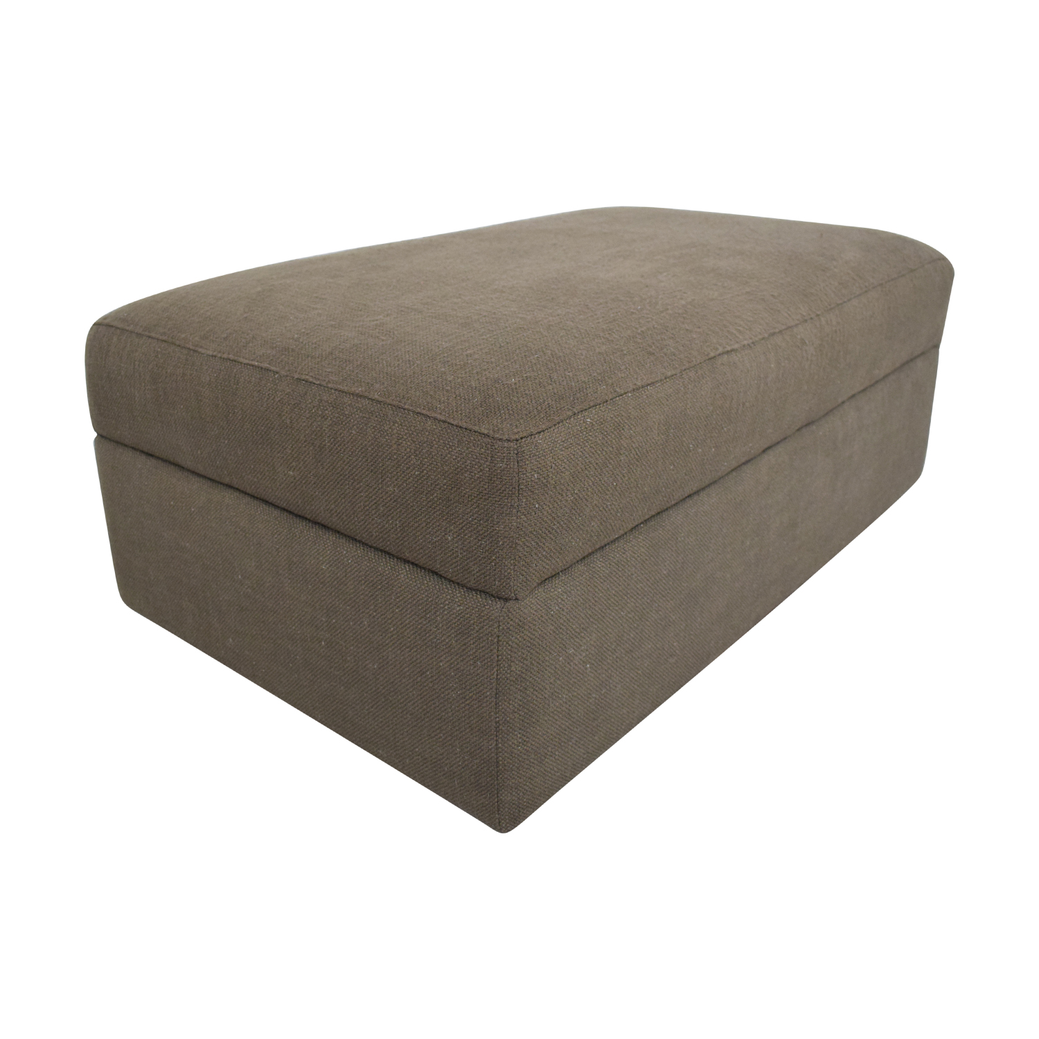 buy Crate & Barrel Storage Ottoman Crate & Barrel Ottomans