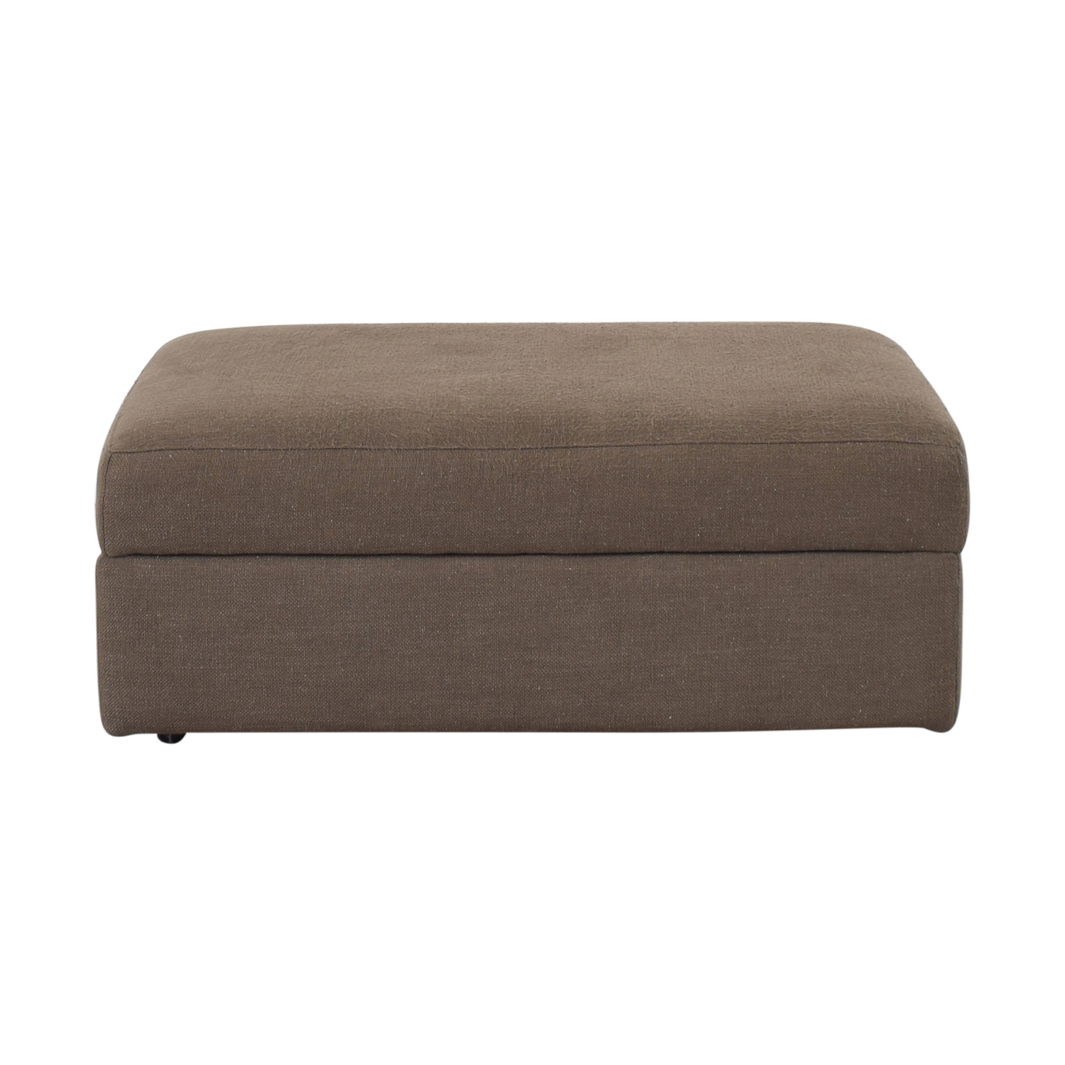Crate & Barrel Storage Ottoman sale