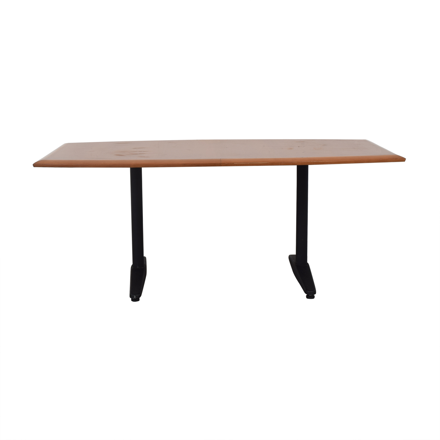 Gunlocke Company Gunlocke Cherry Wood Table second hand