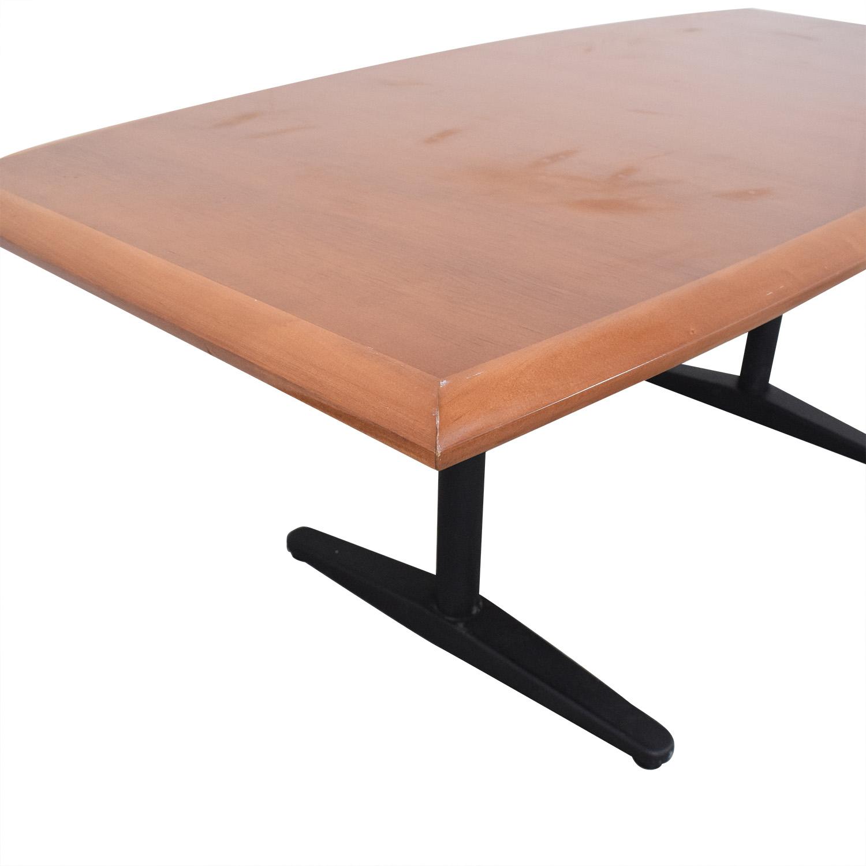 Gunlocke Cherry Wood Table sale