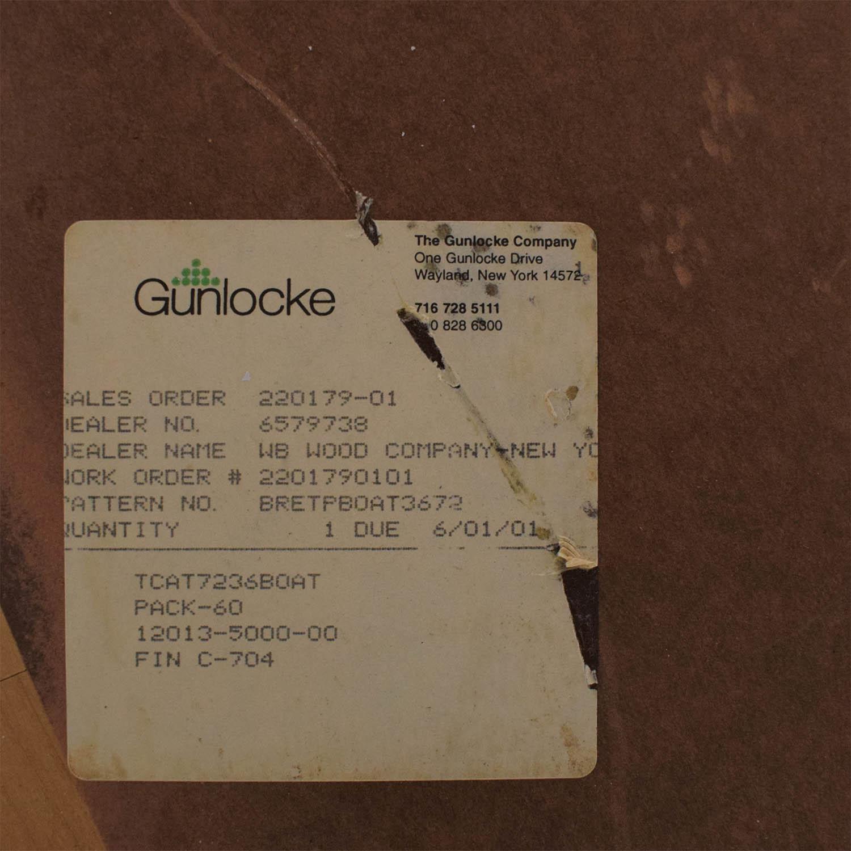 Gunlocke Company Gunlocke Cherry Wood Table nj