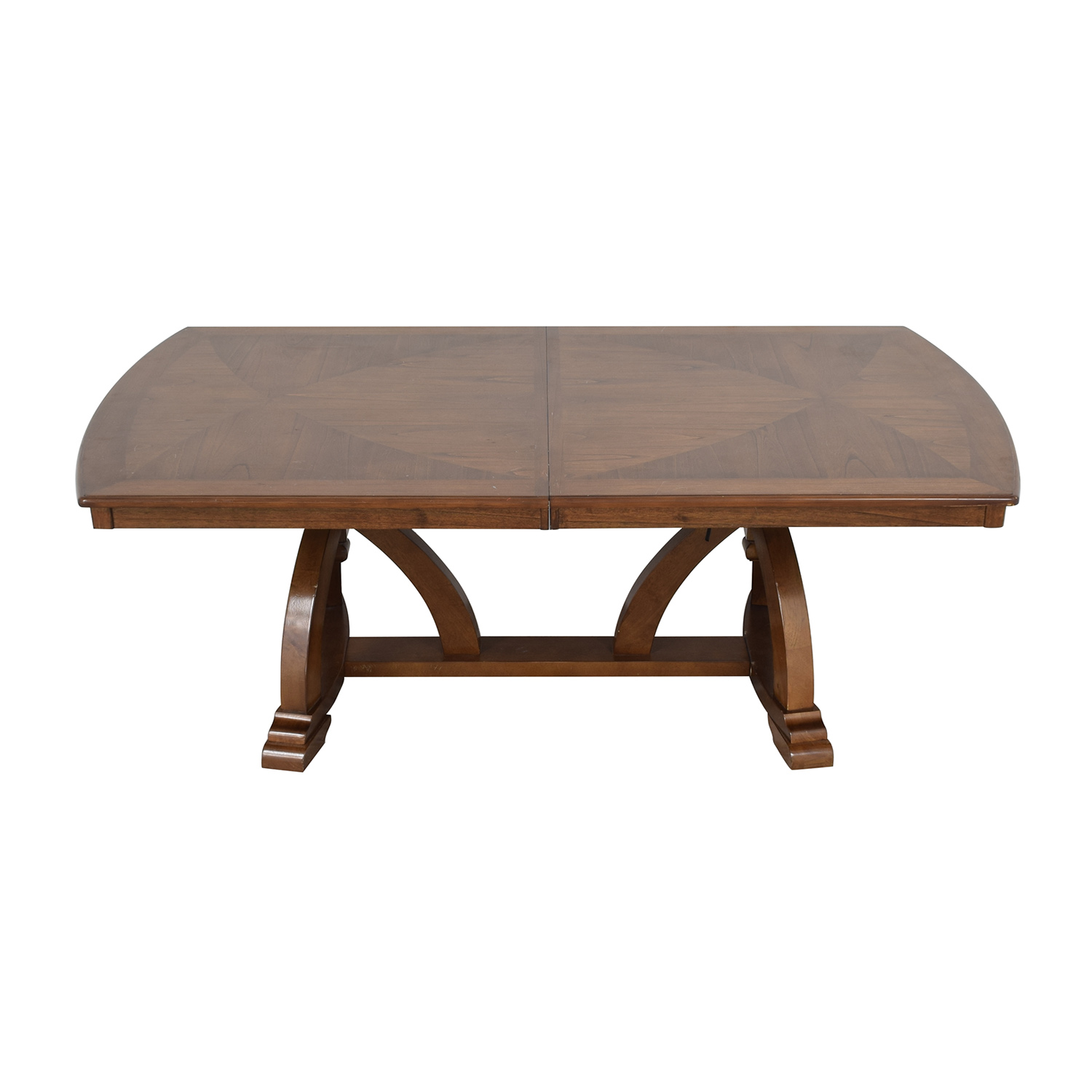 shop Raymour & Flanigan Wood Expandable Dining Table Raymour & Flanigan Tables