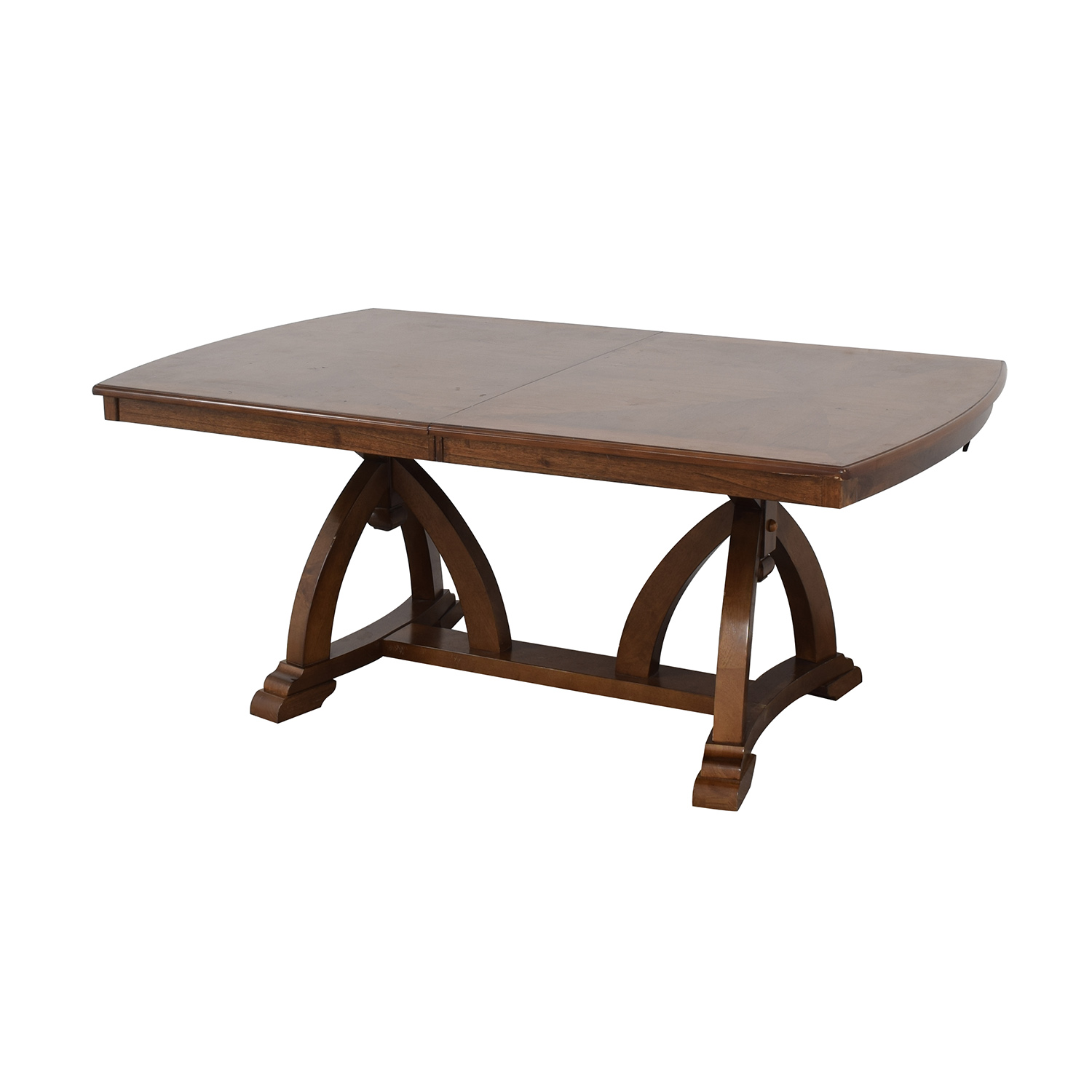 Raymour & Flanigan Raymour & Flanigan Wood Expandable Dining Table price