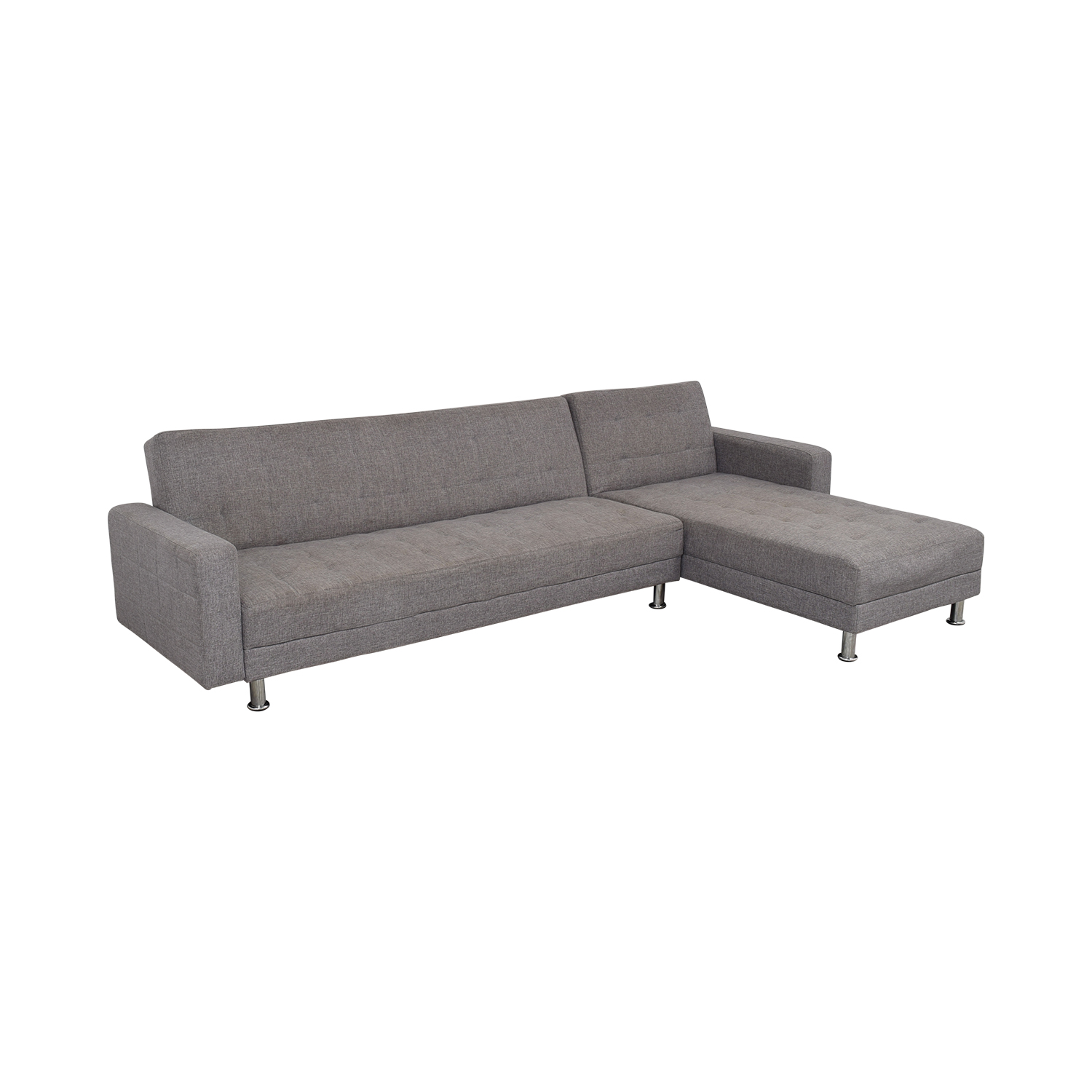 Gold Sparrow Frankfort Convertible Sectional Sofa Bed sale