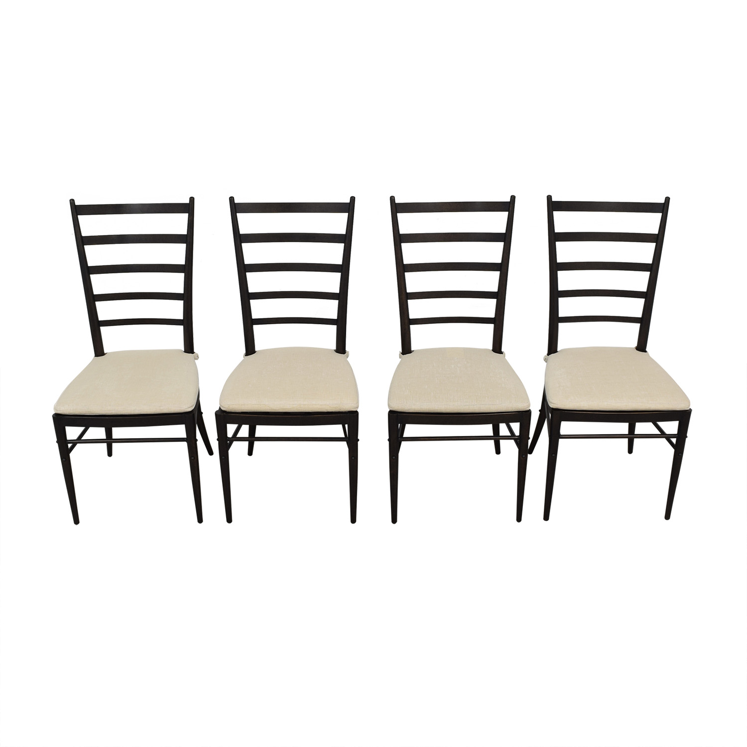 Crate & Barrel Crate & Barrel Ladder Back Dining Chairs coupon