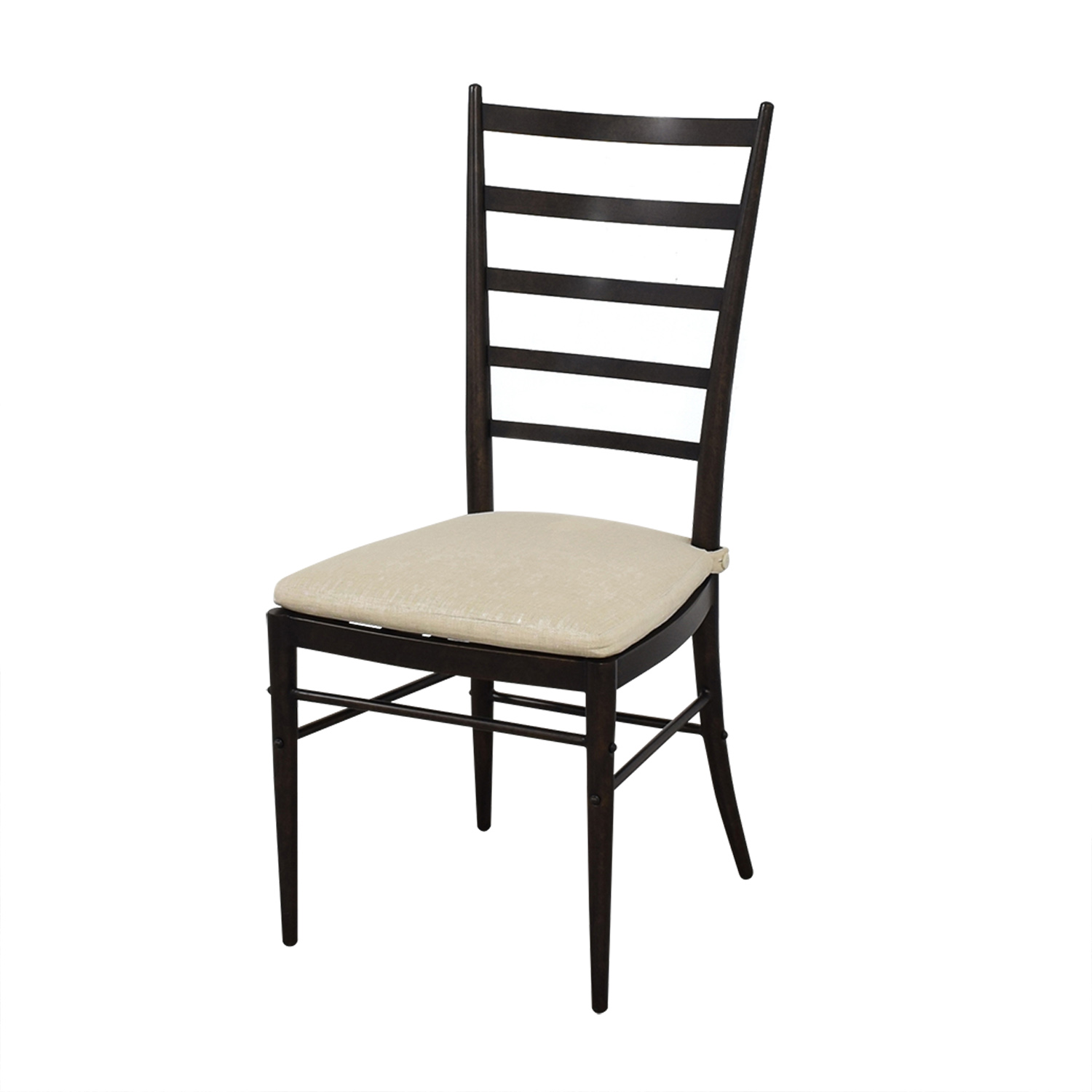 Crate & Barrel Ladder Back Dining Chairs / Dining Chairs