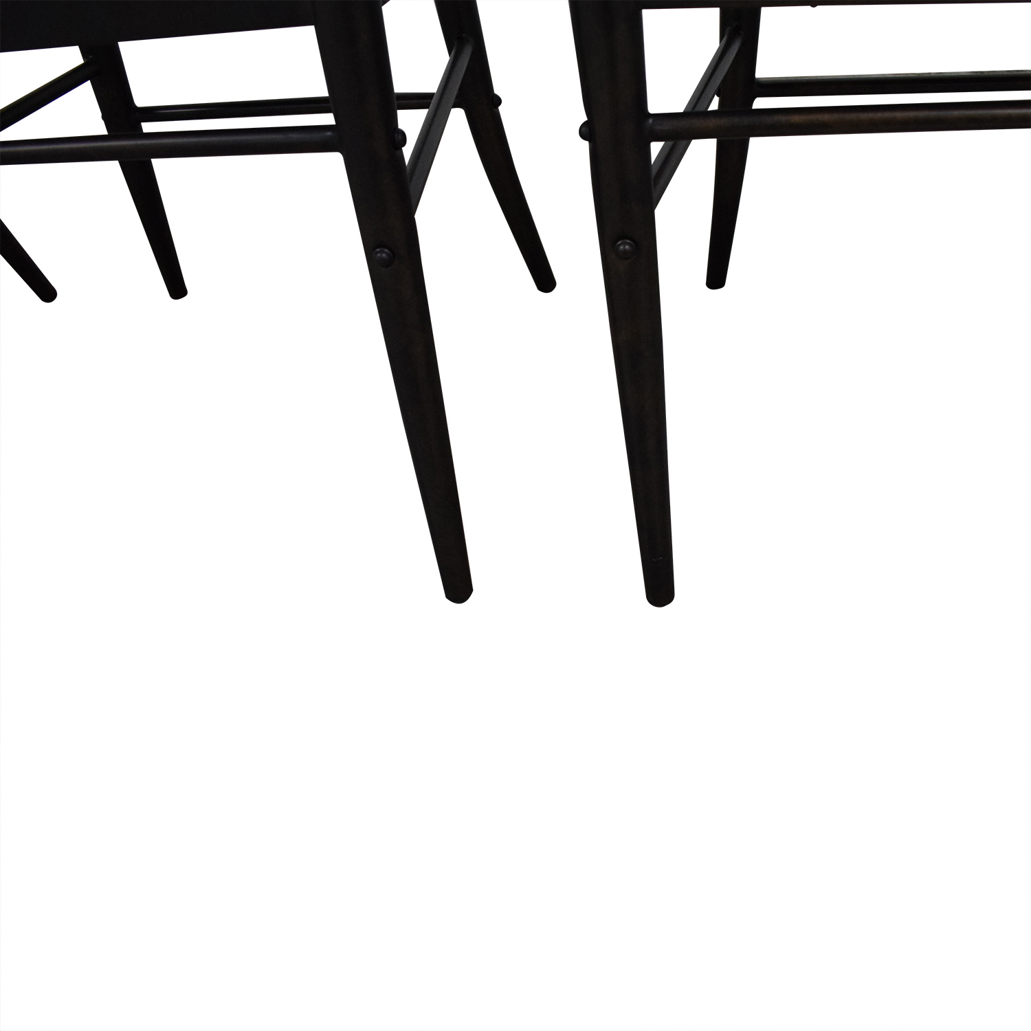 Crate & Barrel Crate & Barrel Ladder Back Dining Chairs on sale