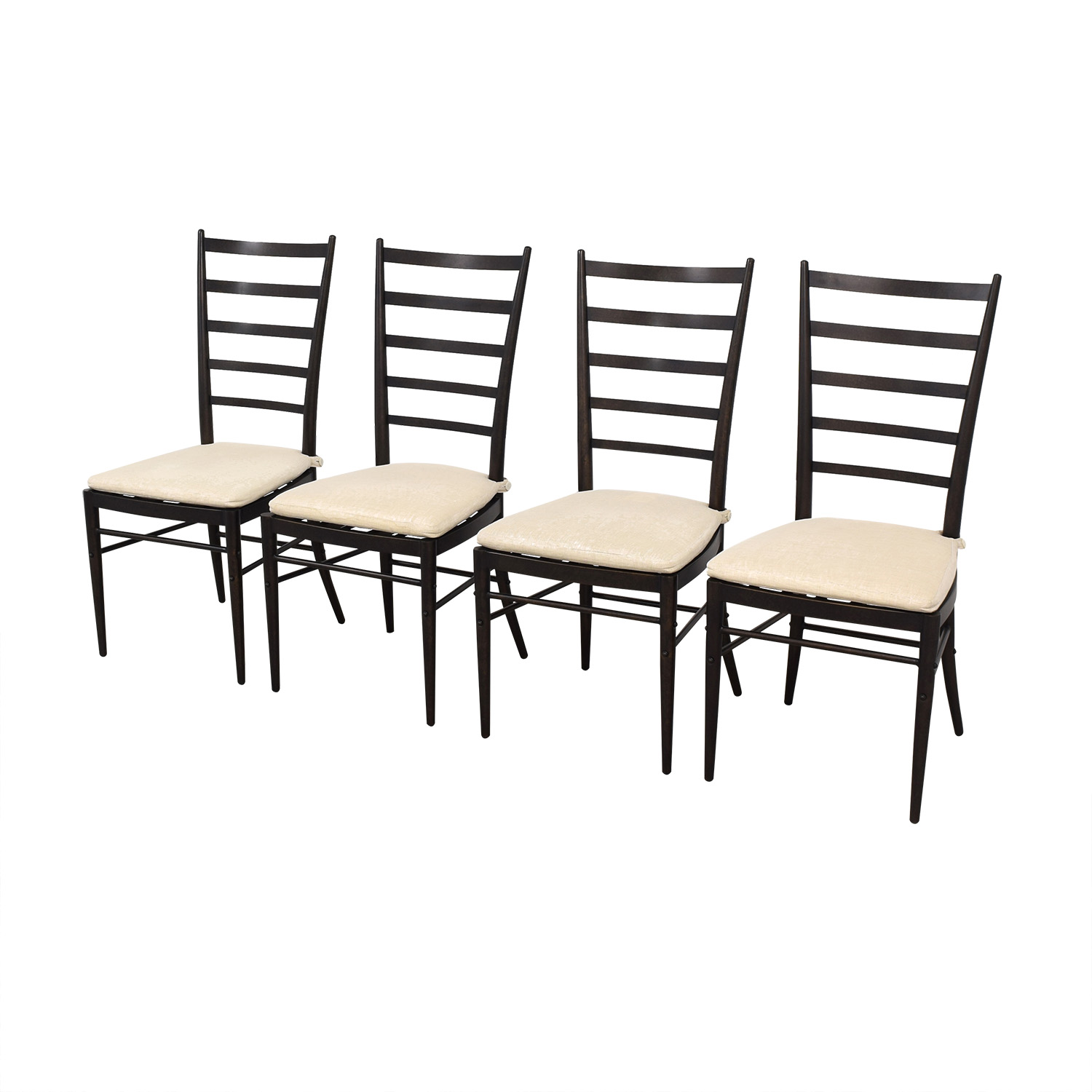 Crate & Barrel Crate & Barrel Ladder Back Dining Chairs Chairs