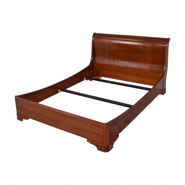 buy Grange Louis Phillippe Queen Sleigh Bed Grange Beds