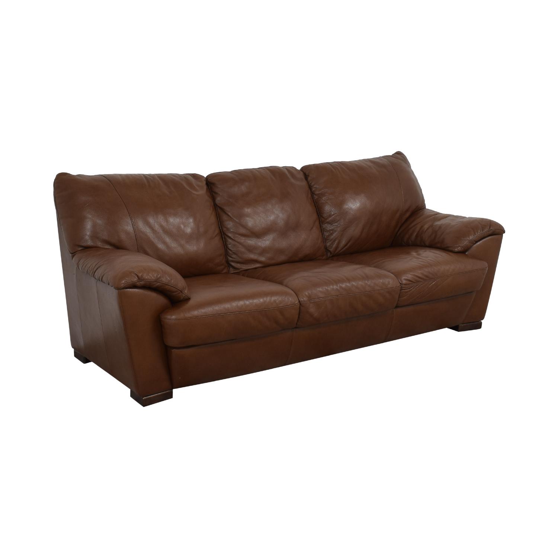 Natuzzi Natuzzi Three Cushion Sofa used
