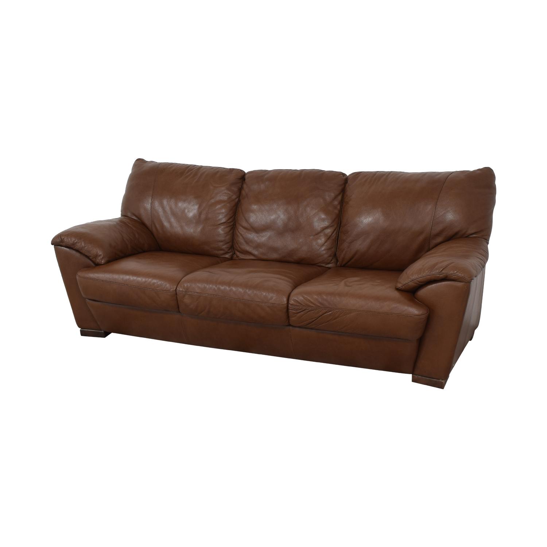 Natuzzi Natuzzi Three Cushion Sofa nyc