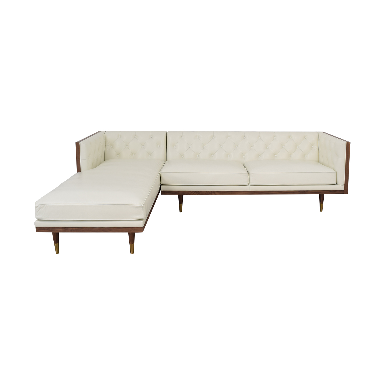 Kardiel Kardiel Woodrow Neo Sectional Sofa with Chaise nyc