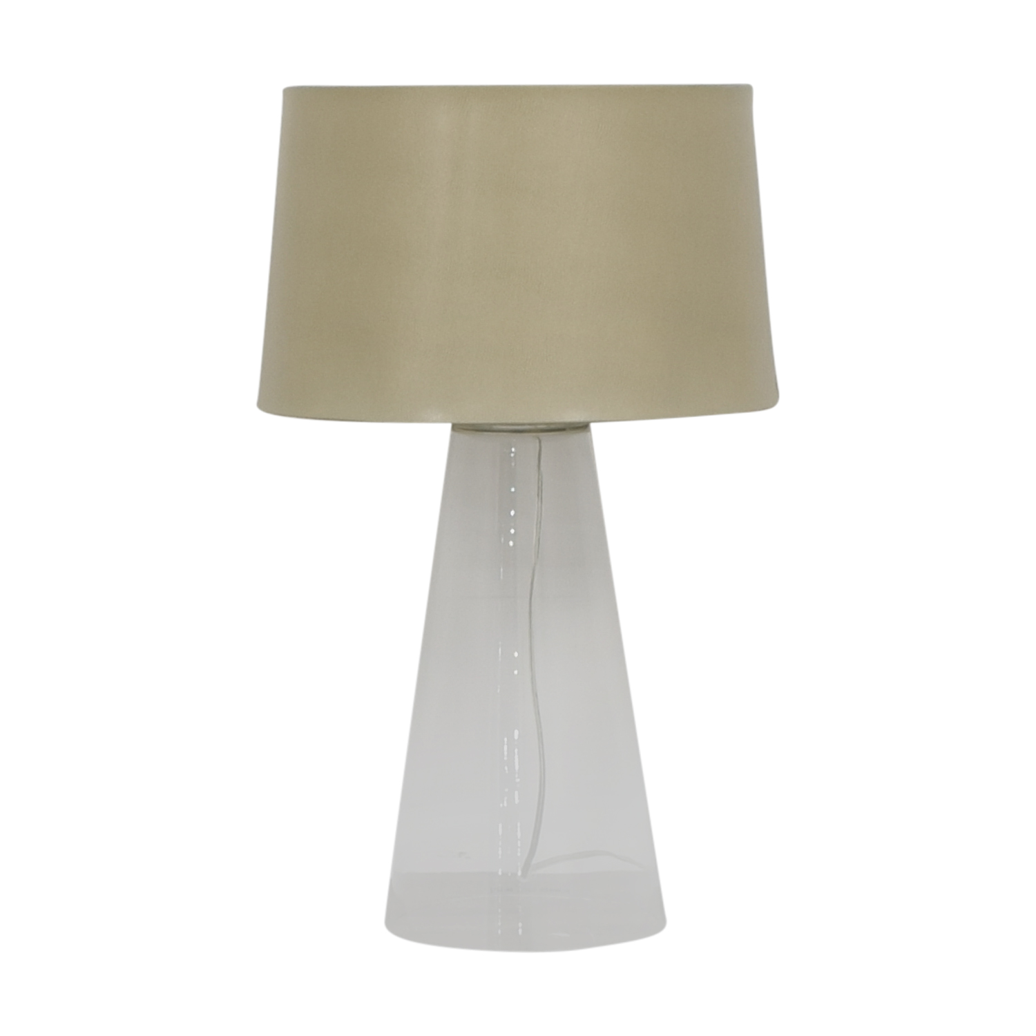 Crate & Barrel Crate & Barrel Table Lamp dimensions