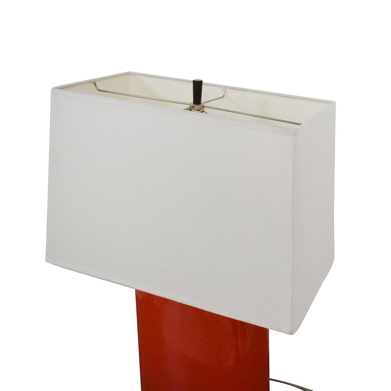 buy Crate & Barrel  Modern Lamp Crate & Barrel Lamps