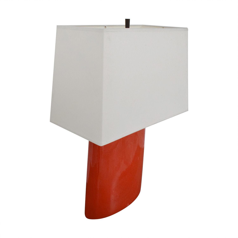 Crate & Barrel  Modern Lamp Crate & Barrel