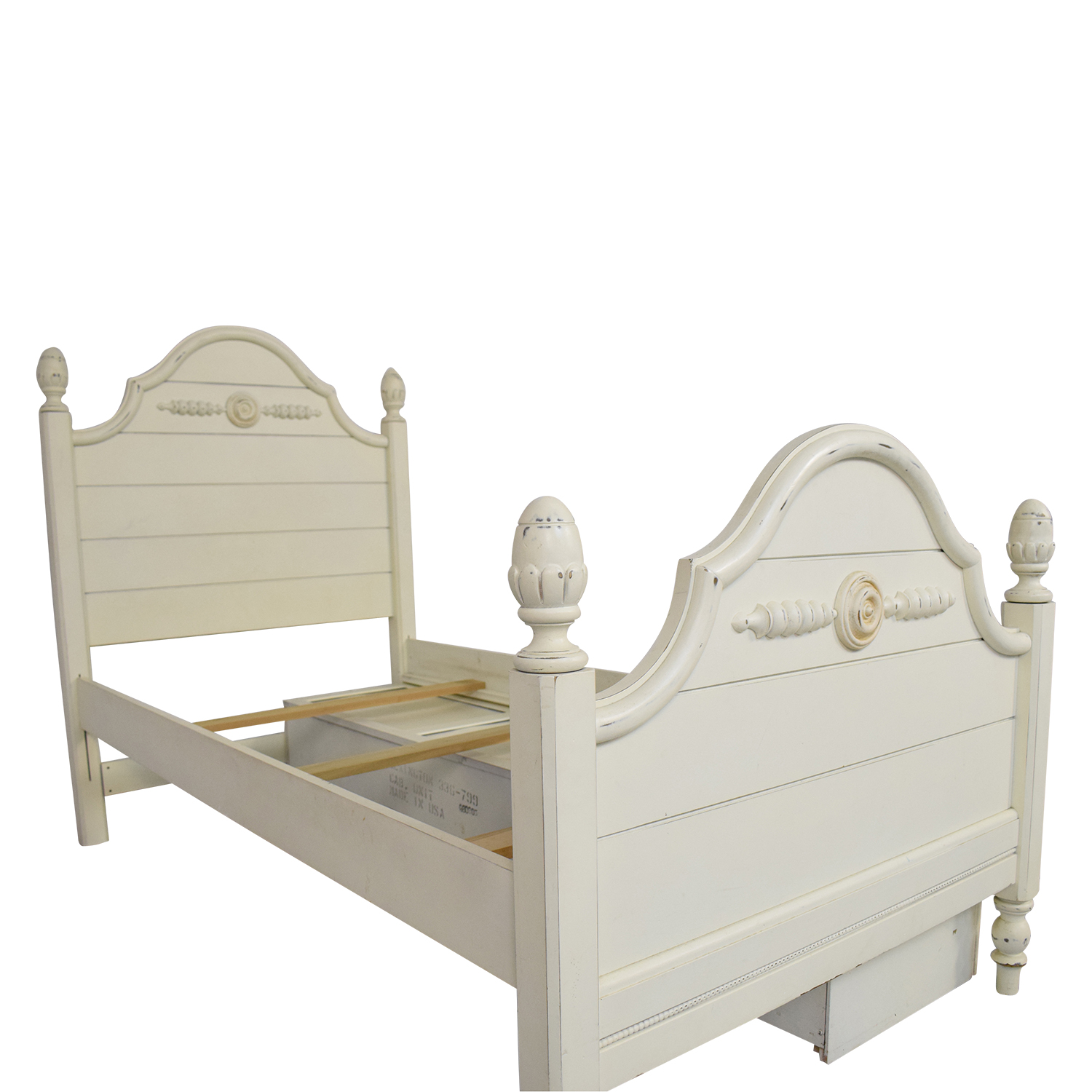 buy Lexington Furniture Distressed Twin Bed with Storage Lexington Furniture Beds