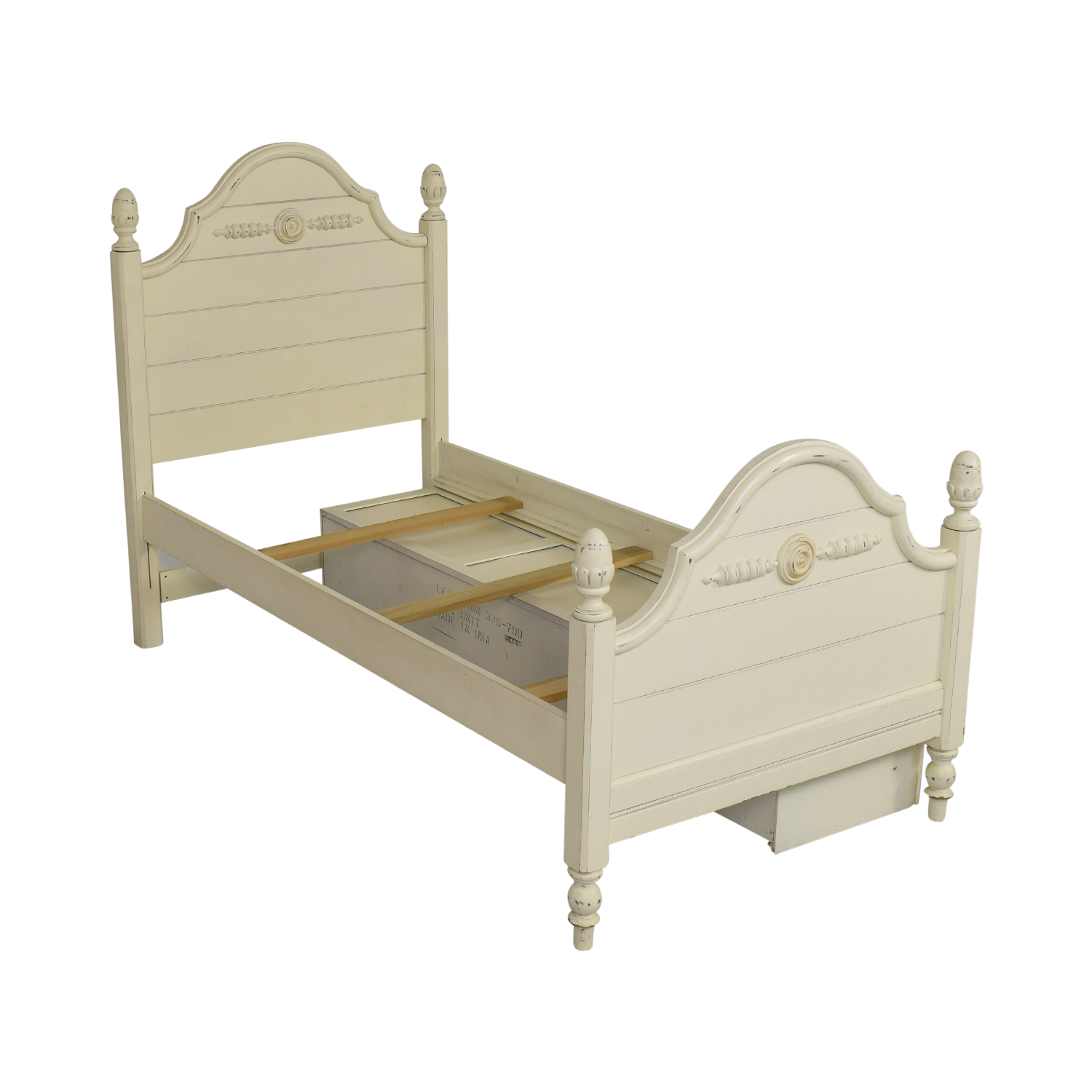 Lexington Furniture Lexington Furniture Distressed Twin Bed with Storage discount