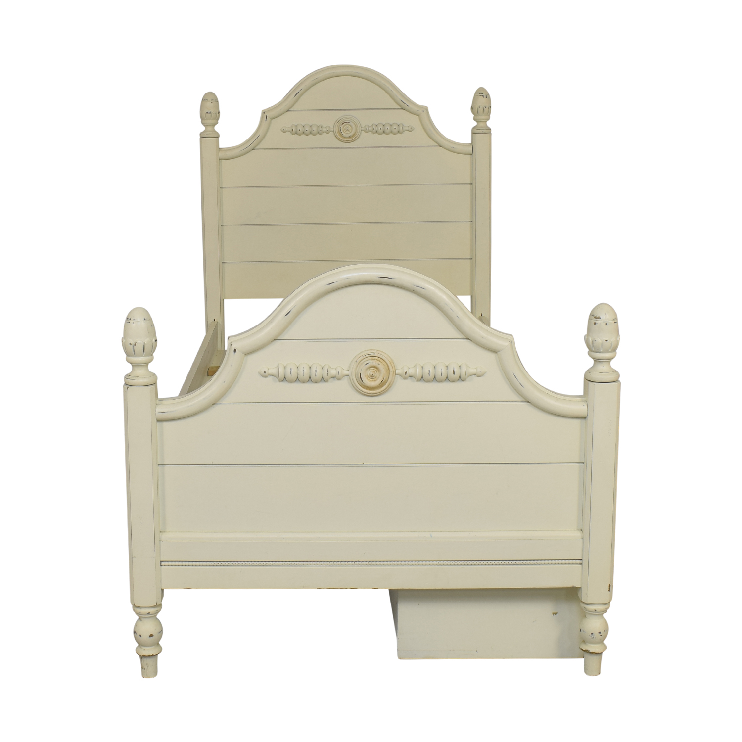 buy Lexington Furniture Distressed Twin Bed with Storage Lexington Furniture Bed Frames