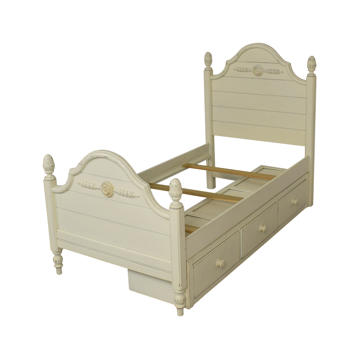 Lexington Furniture Lexington Furniture Distressed Twin Bed with Storage coupon