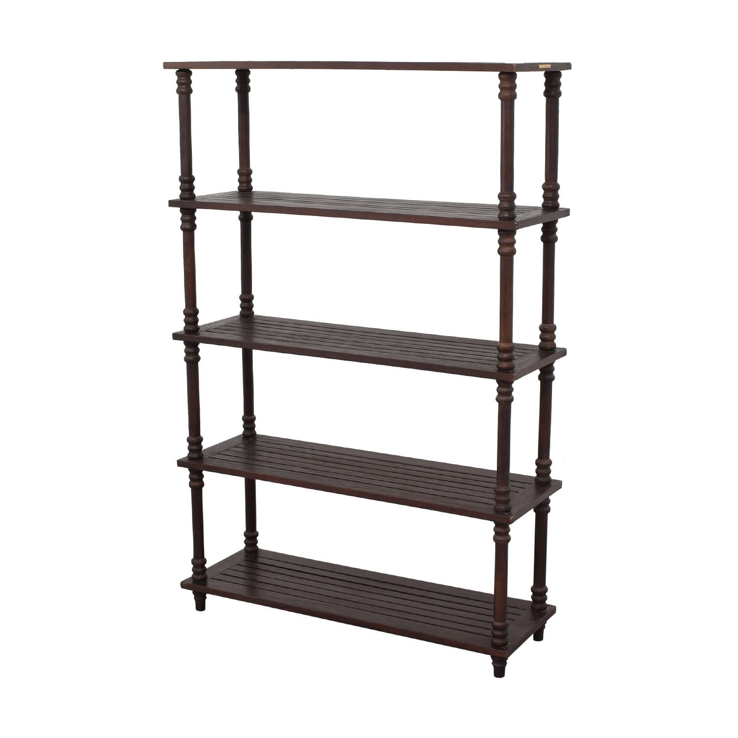 Ballard Designs Ballard Designs Floating Bookcase dark brown