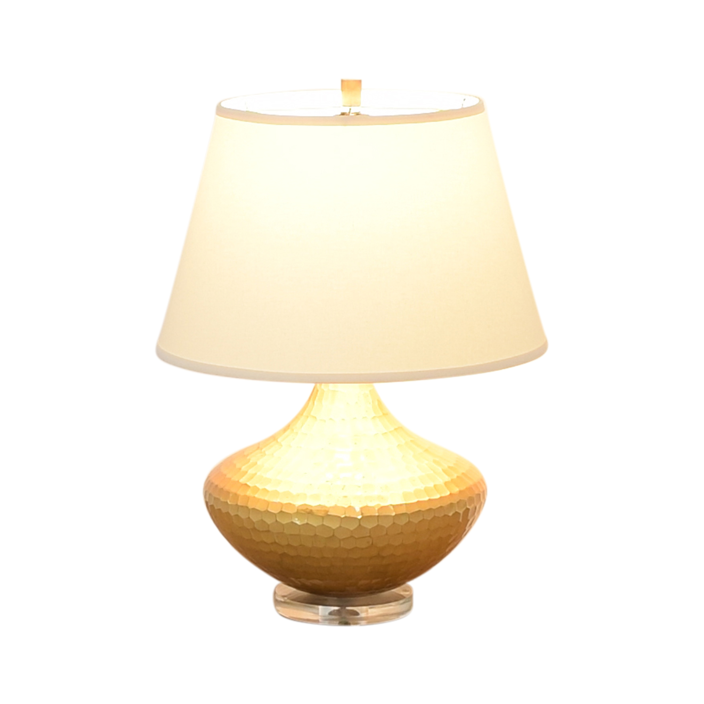 Ethan Allen Ethan Allen Hammered Lamp ct