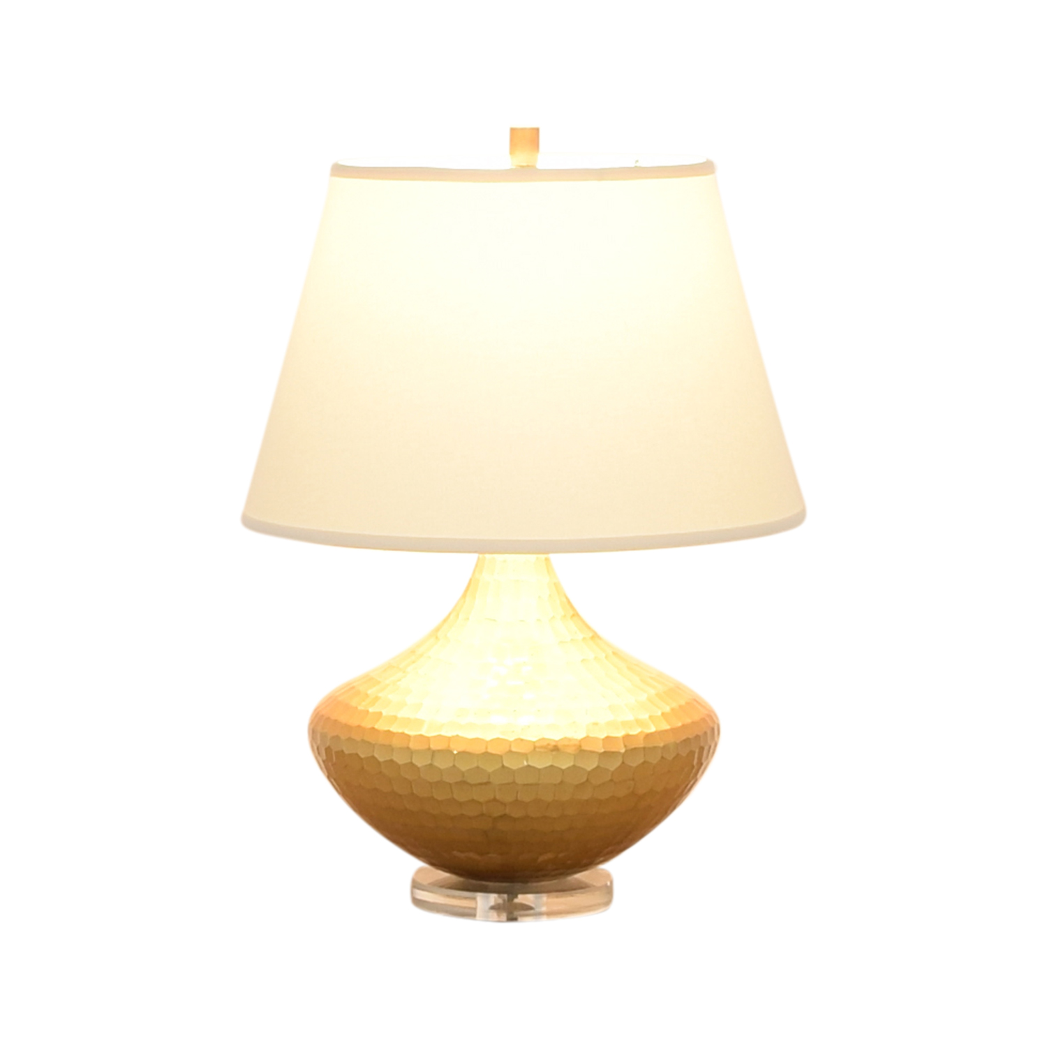 Ethan Allen Ethan Allen Hammered Lamp Decor