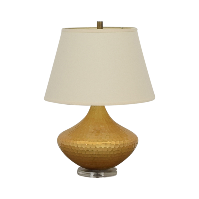 Ethan Allen Ethan Allen Hammered Lamp discount
