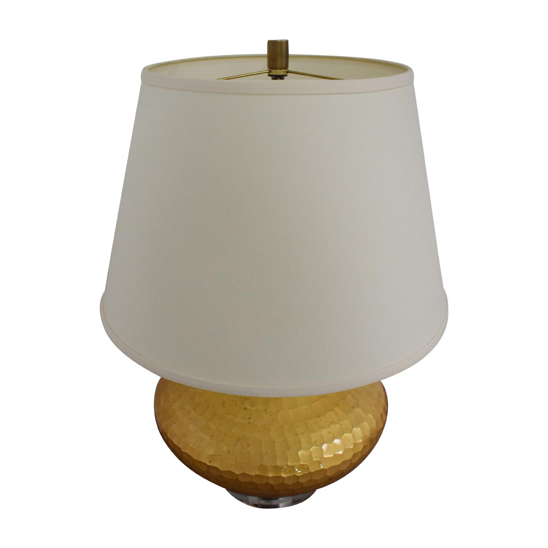 shop Ethan Allen Hammered Lamp Ethan Allen Decor