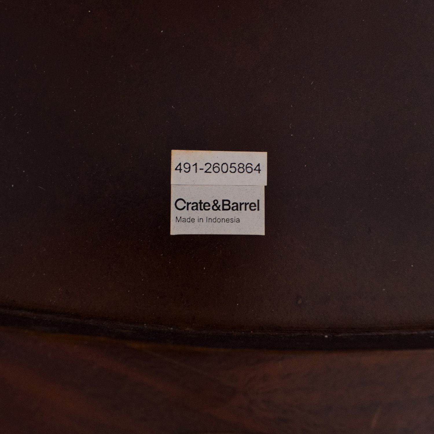 Crate & Barrel Crate & Barrel Round Dining Table used