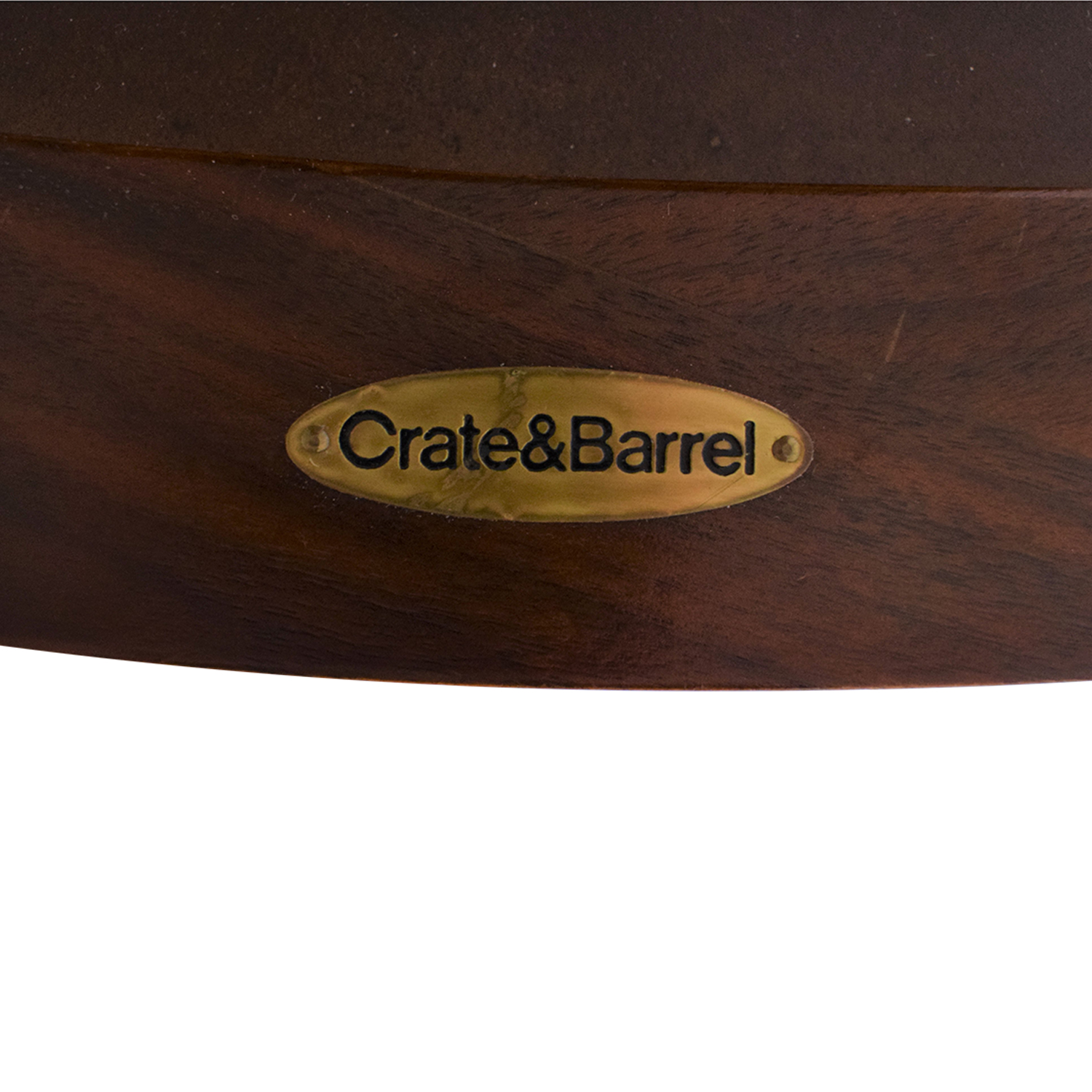 Crate & Barrel Crate & Barrel Round Dining Table discount