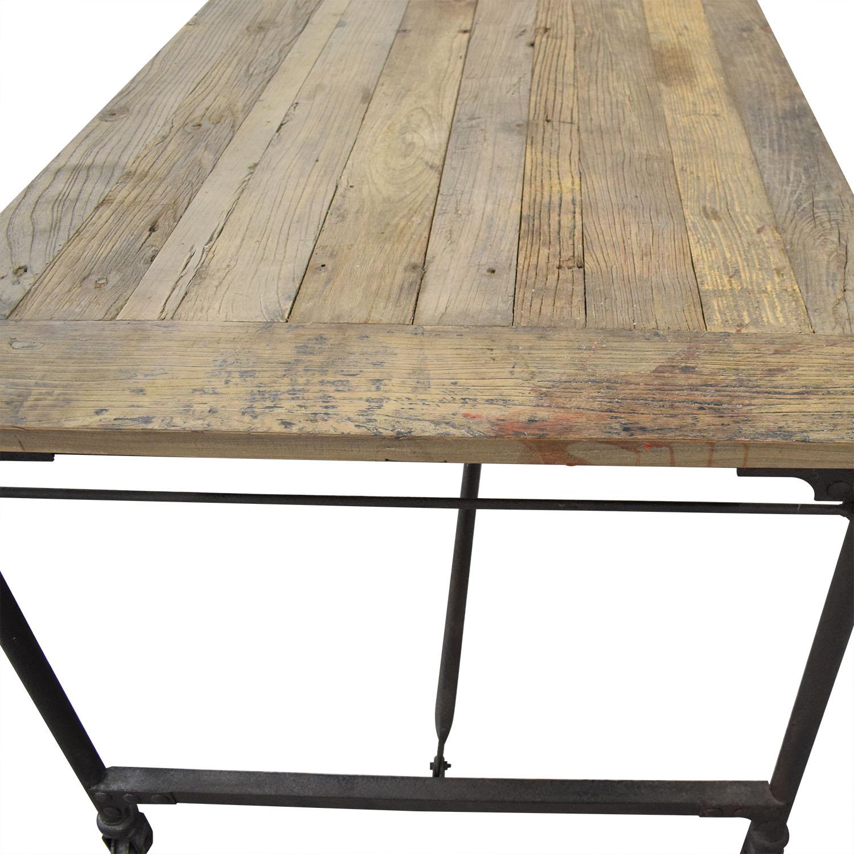 buy Restoration Hardware Flatiron Rectangular Table Restoration Hardware Tables