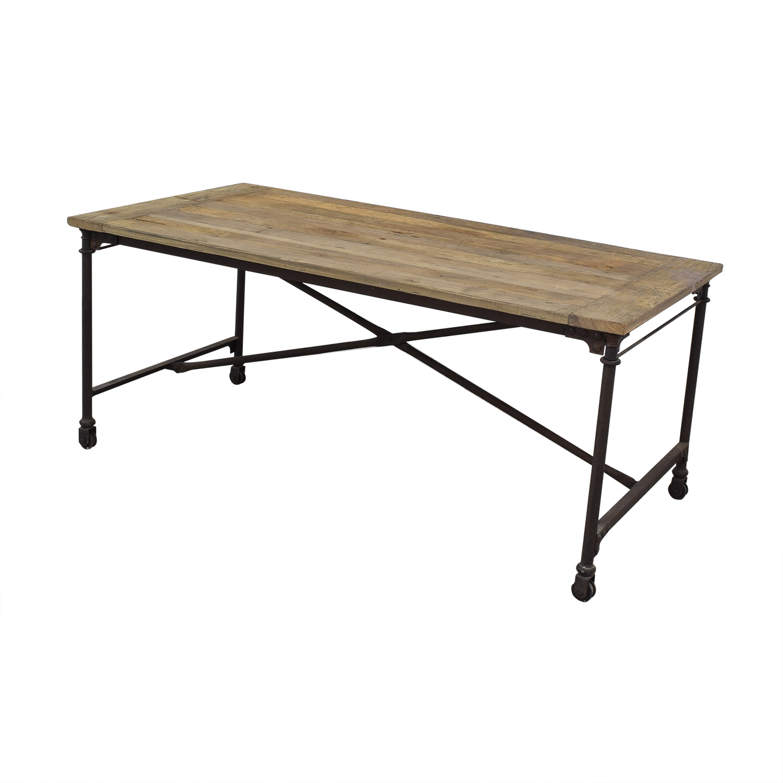 Restoration Hardware Flatiron Rectangular Table / Tables