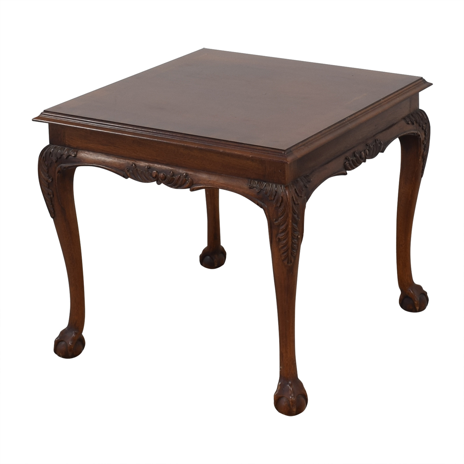 Lane Furniture Lane Claw Foot End Table for sale