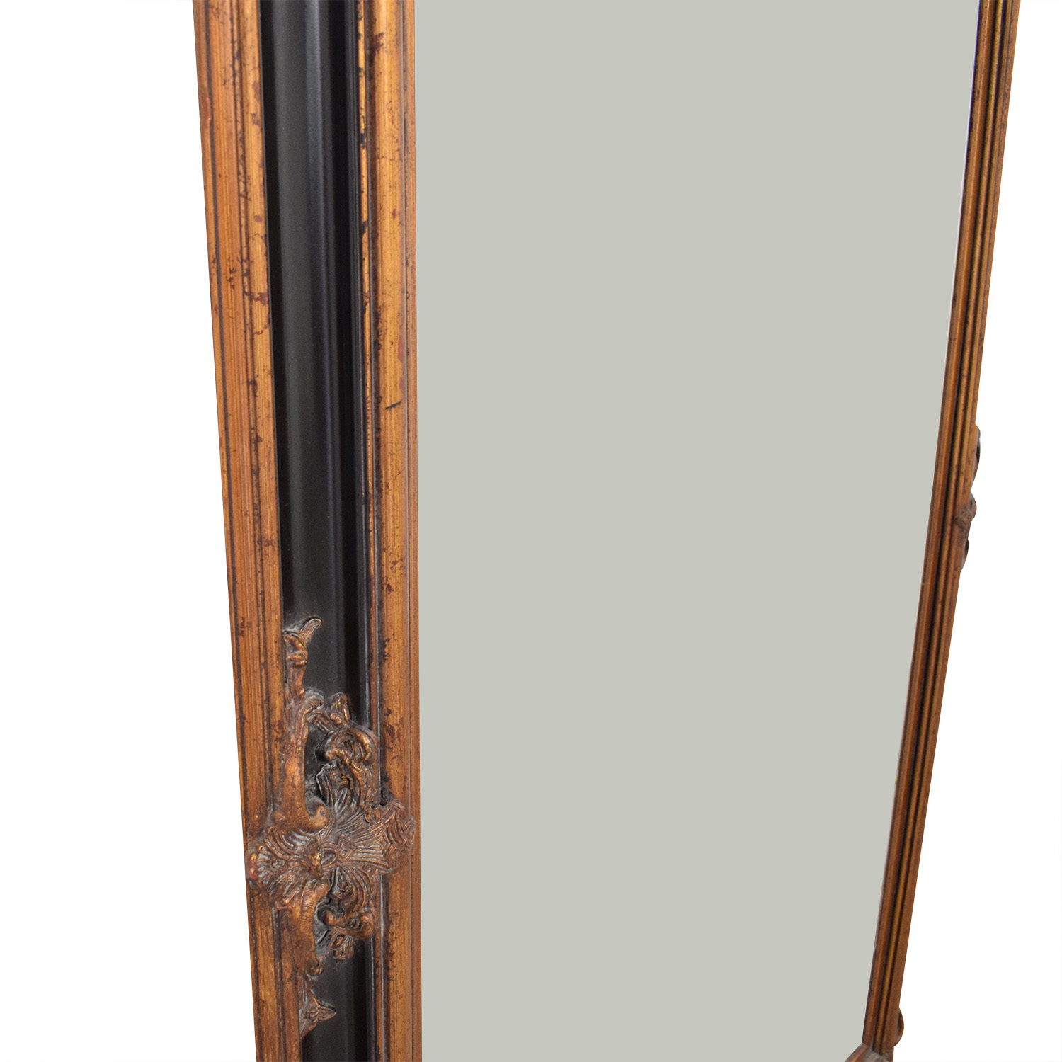 Antique Large Floor Mirror