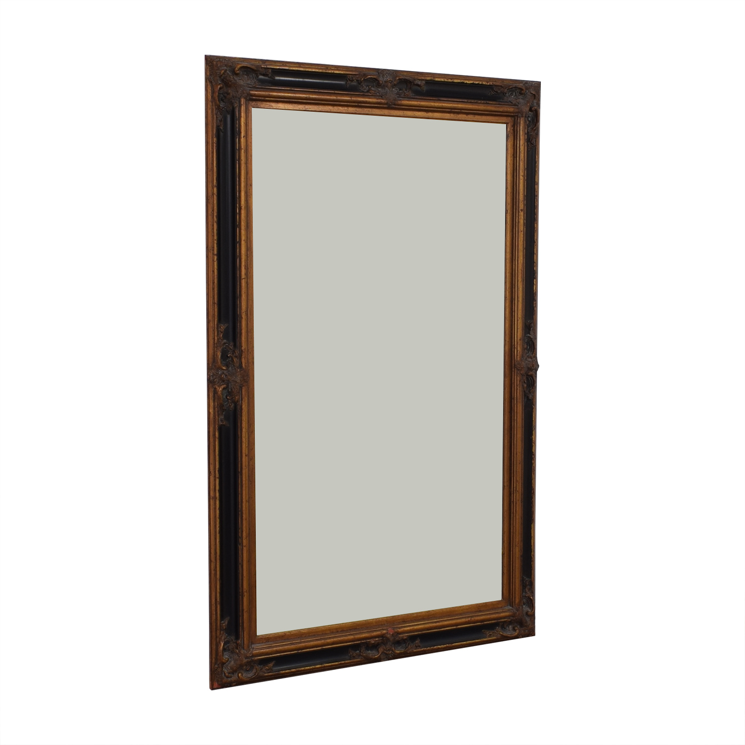 Antique Large Floor Mirror pa